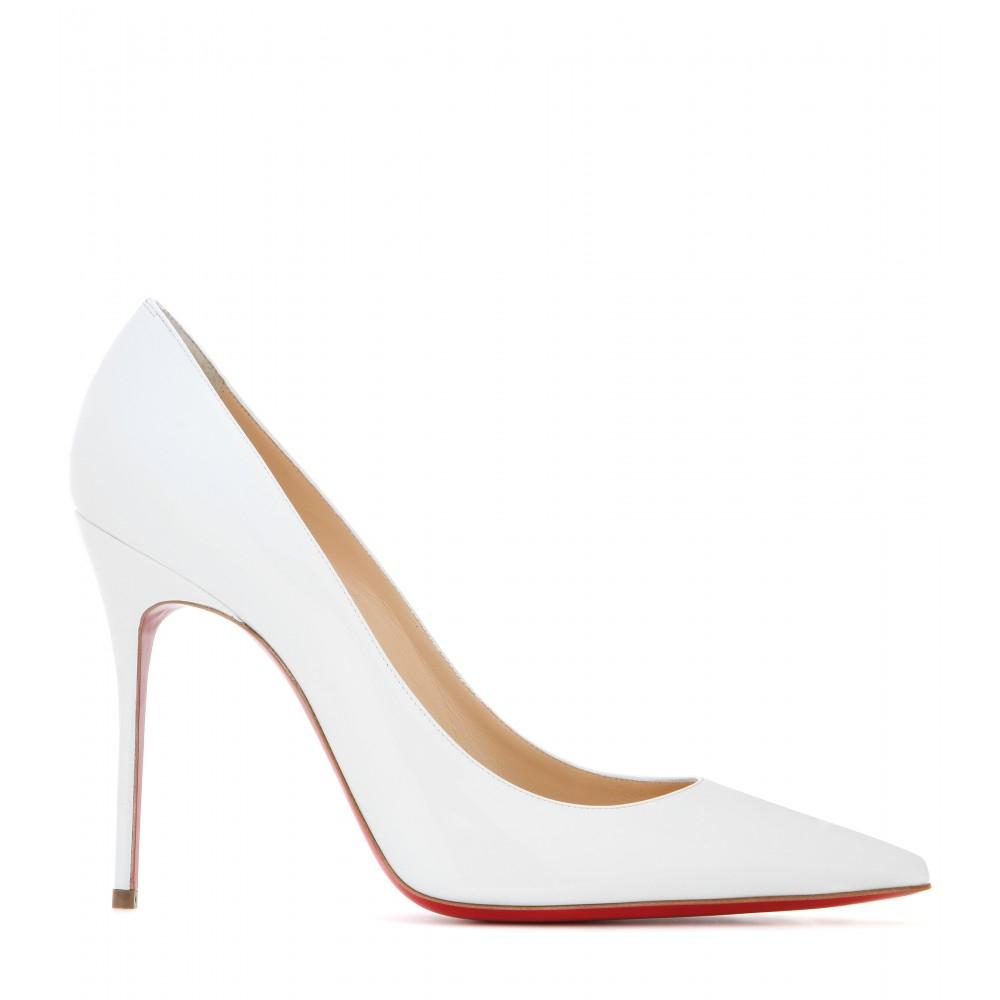 separation shoes 72e32 15739 Christian Louboutin Decollete 554 100 Patent Leather Pumps ...