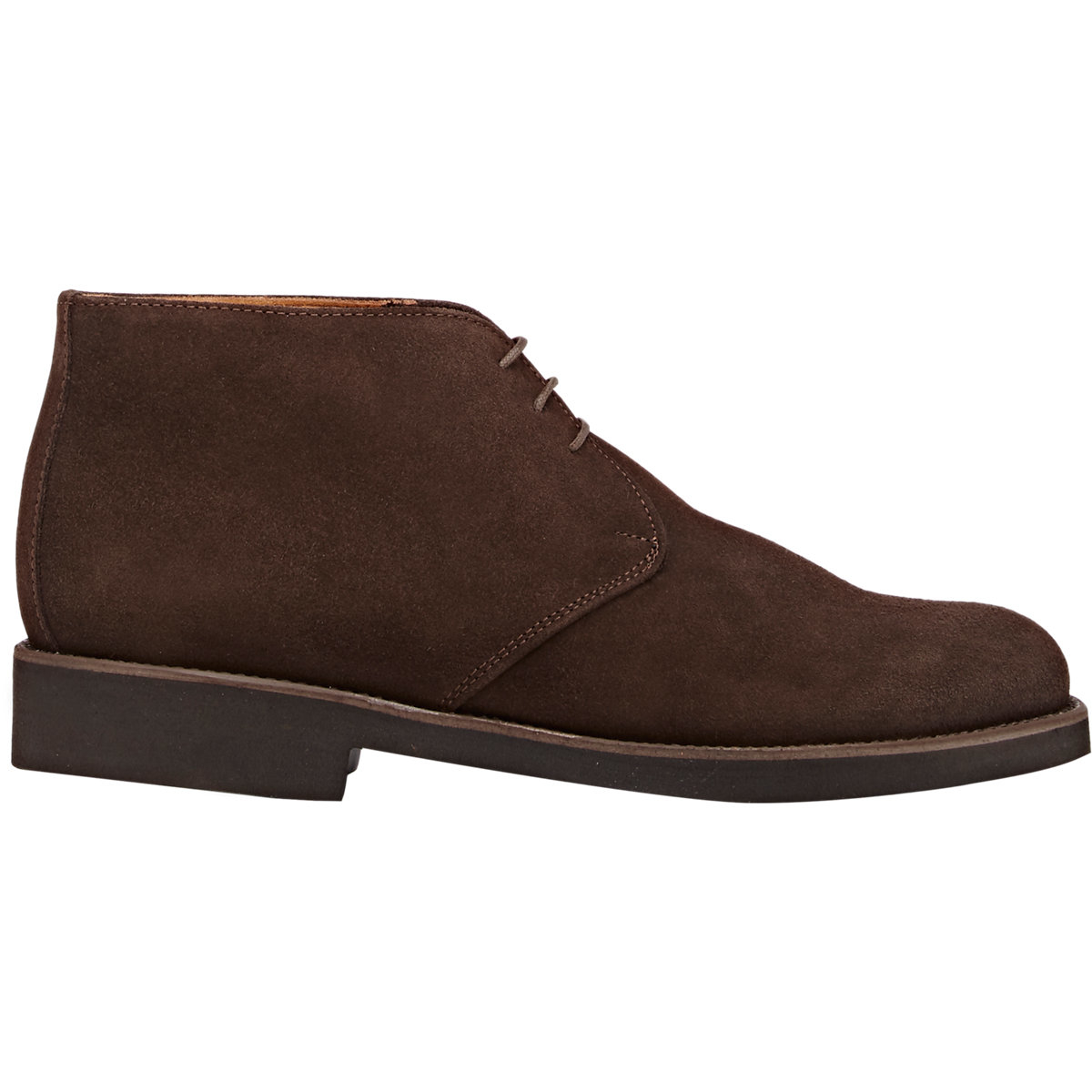 Barneys New York Suede Chukka Boots In Brown For Men Lyst