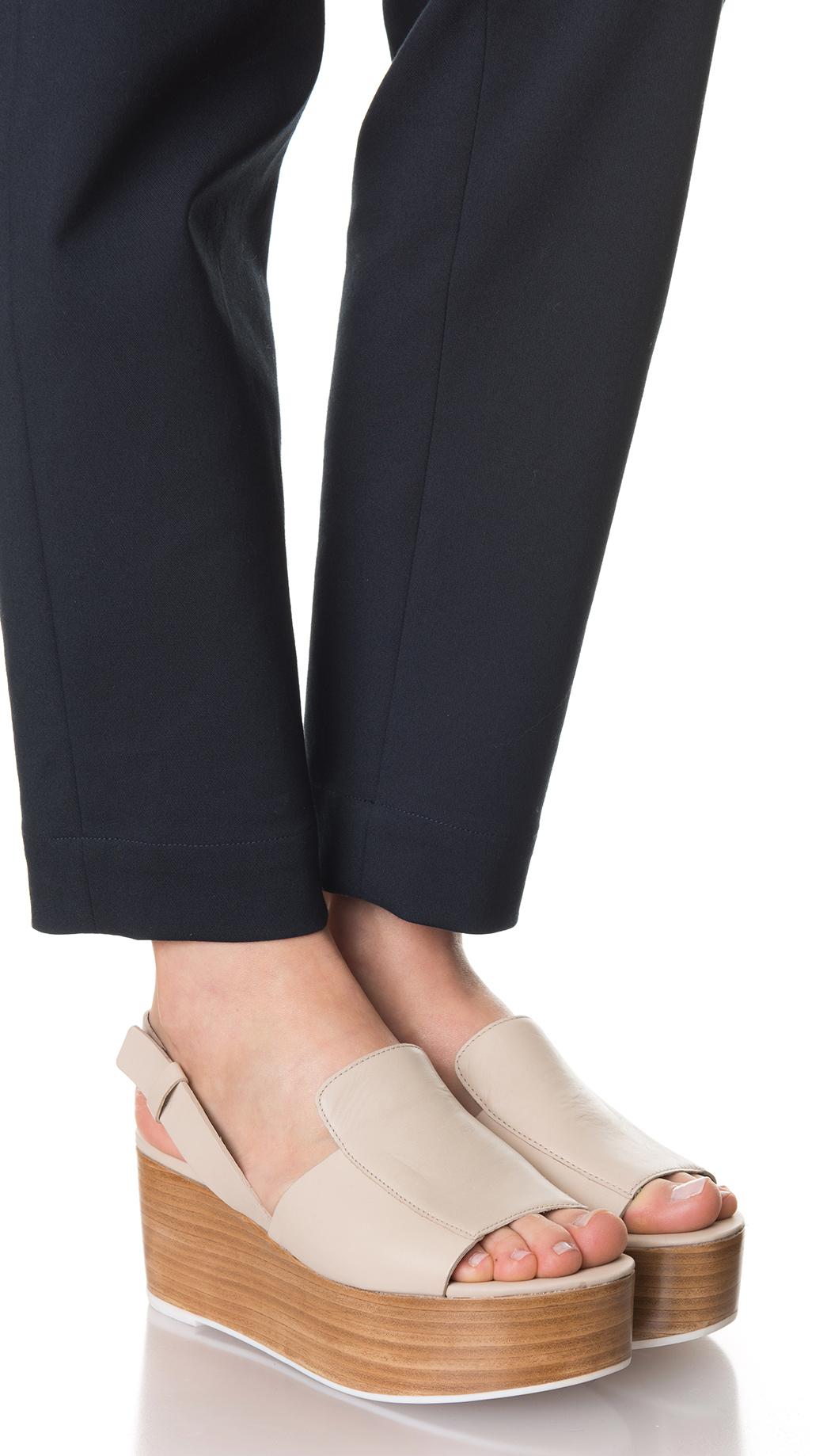 04598bb7a63 Tibi Alex Platform Sandals in White - Lyst