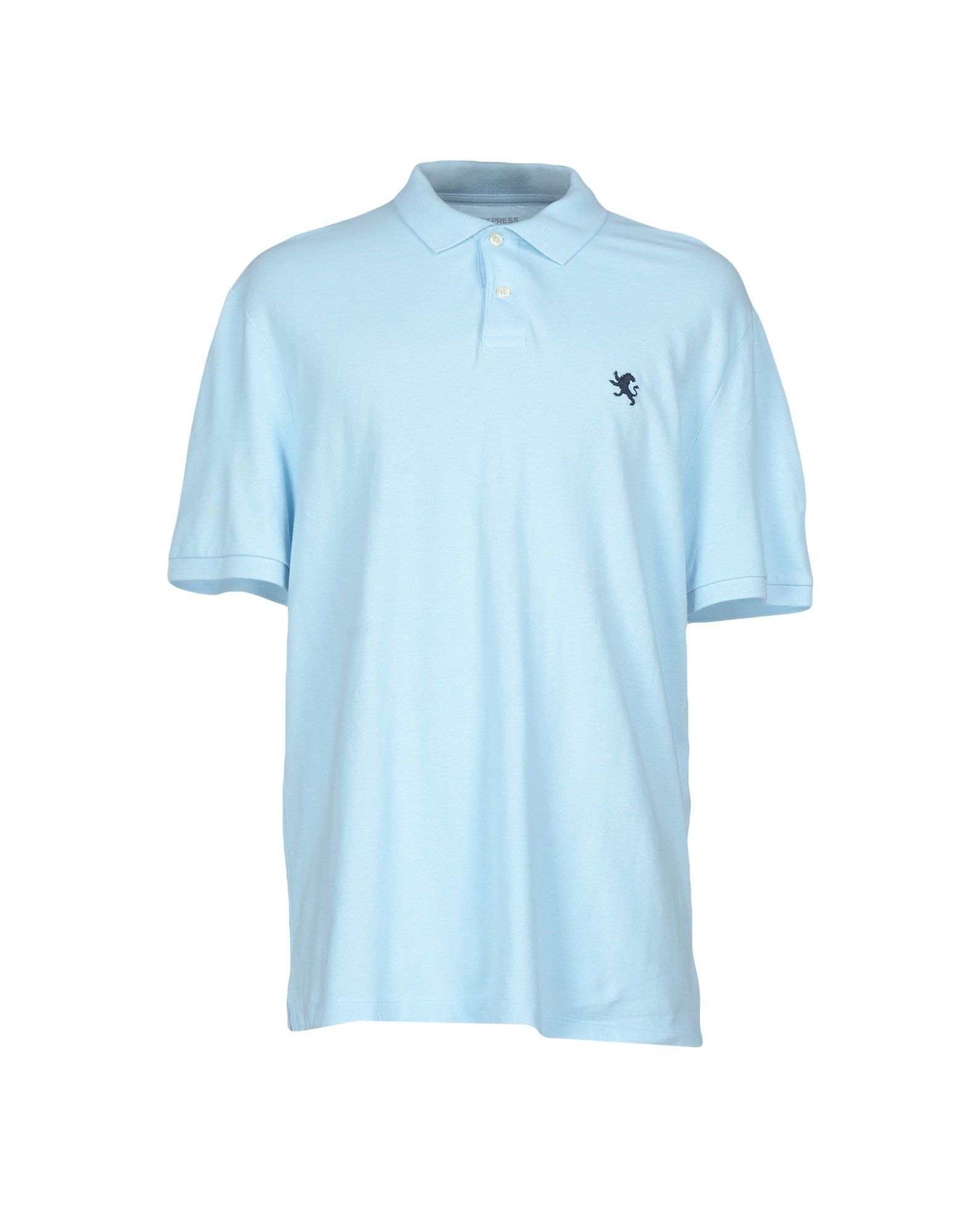 Express Polo Shirt In Blue For Men Lyst