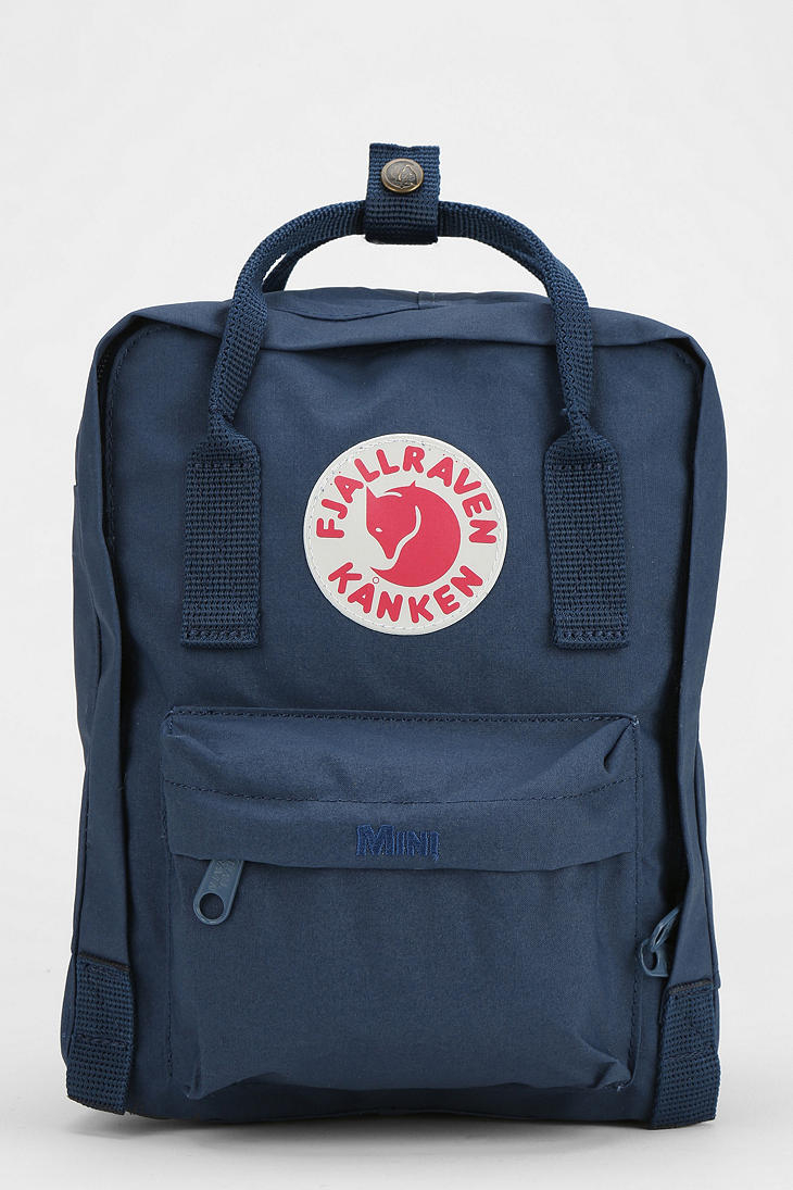 Urban Outfitters Fjallraven Kanken Mini Backpack In Blue