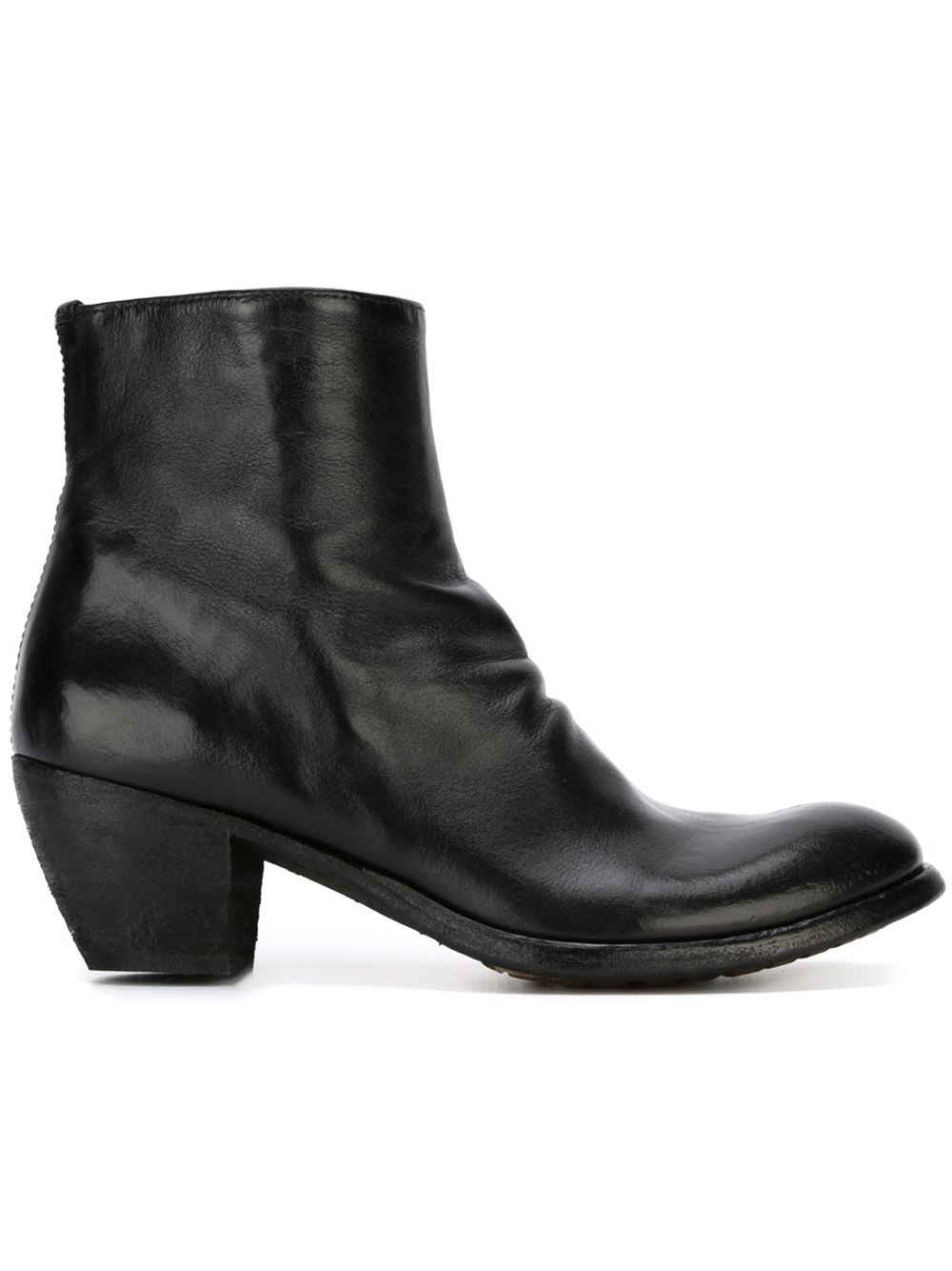 Elegant Officine Creative U0026#39;godardu0026#39; Ankle Boots In Brown   Lyst