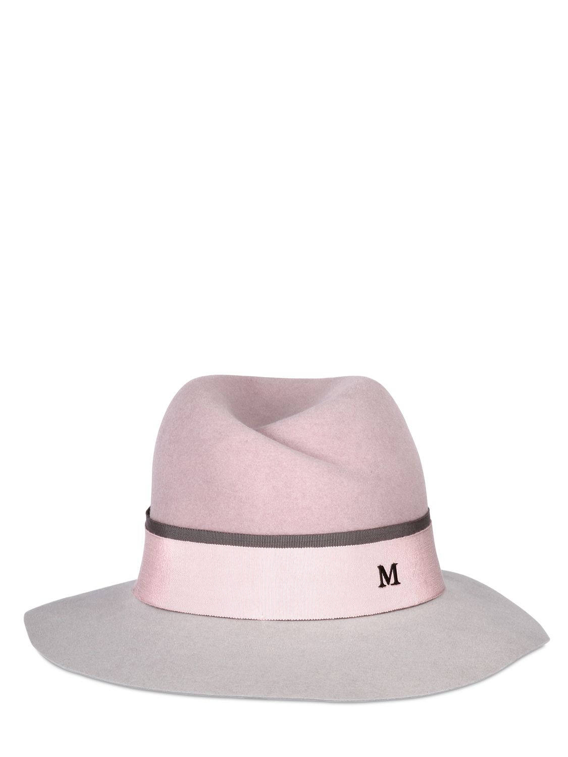 Two-tone Virginie Hat Maison Michel