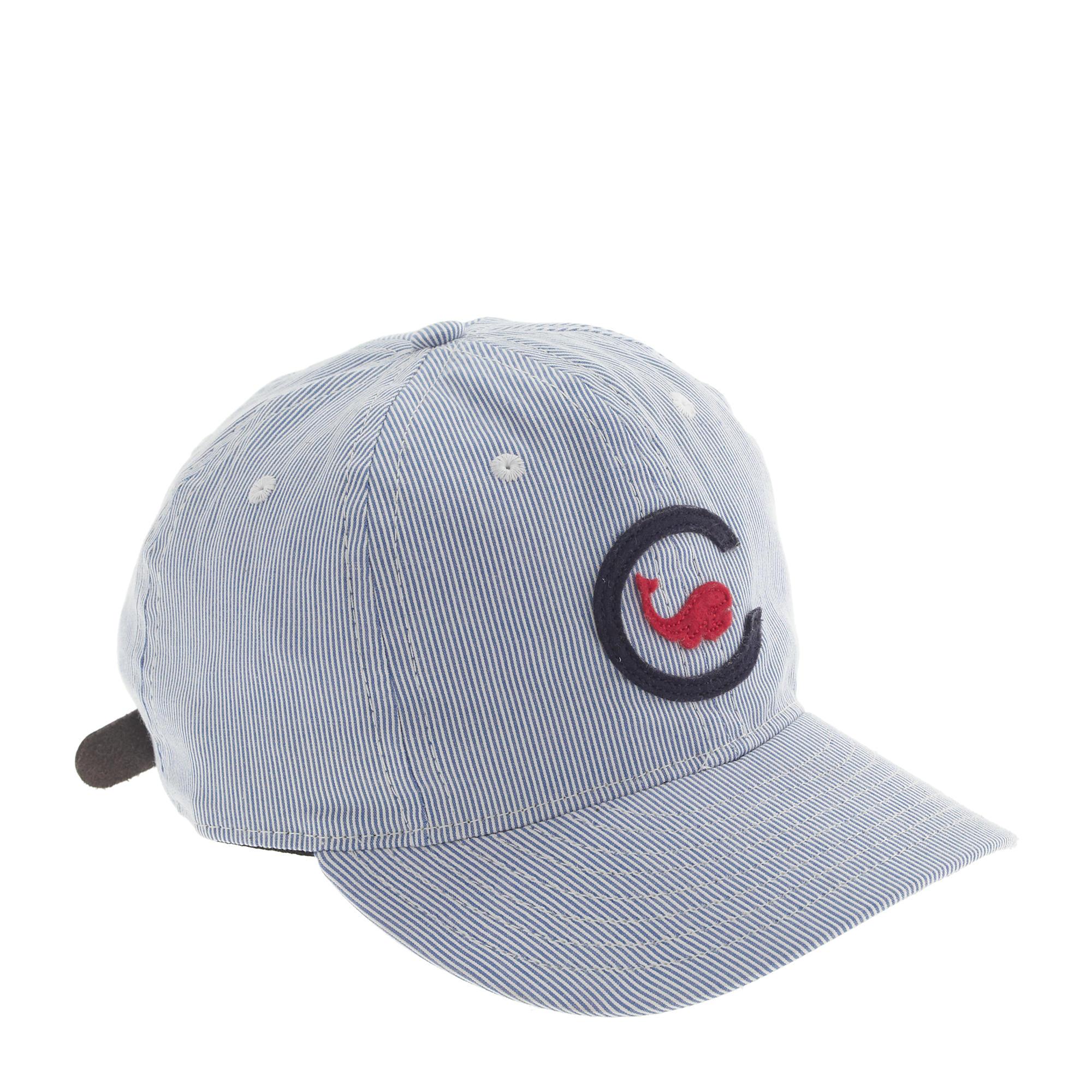 85dddcf3464 J.Crew Ebbets Field Flannels Chicago Whales Ball Cap in Blue for Men ...