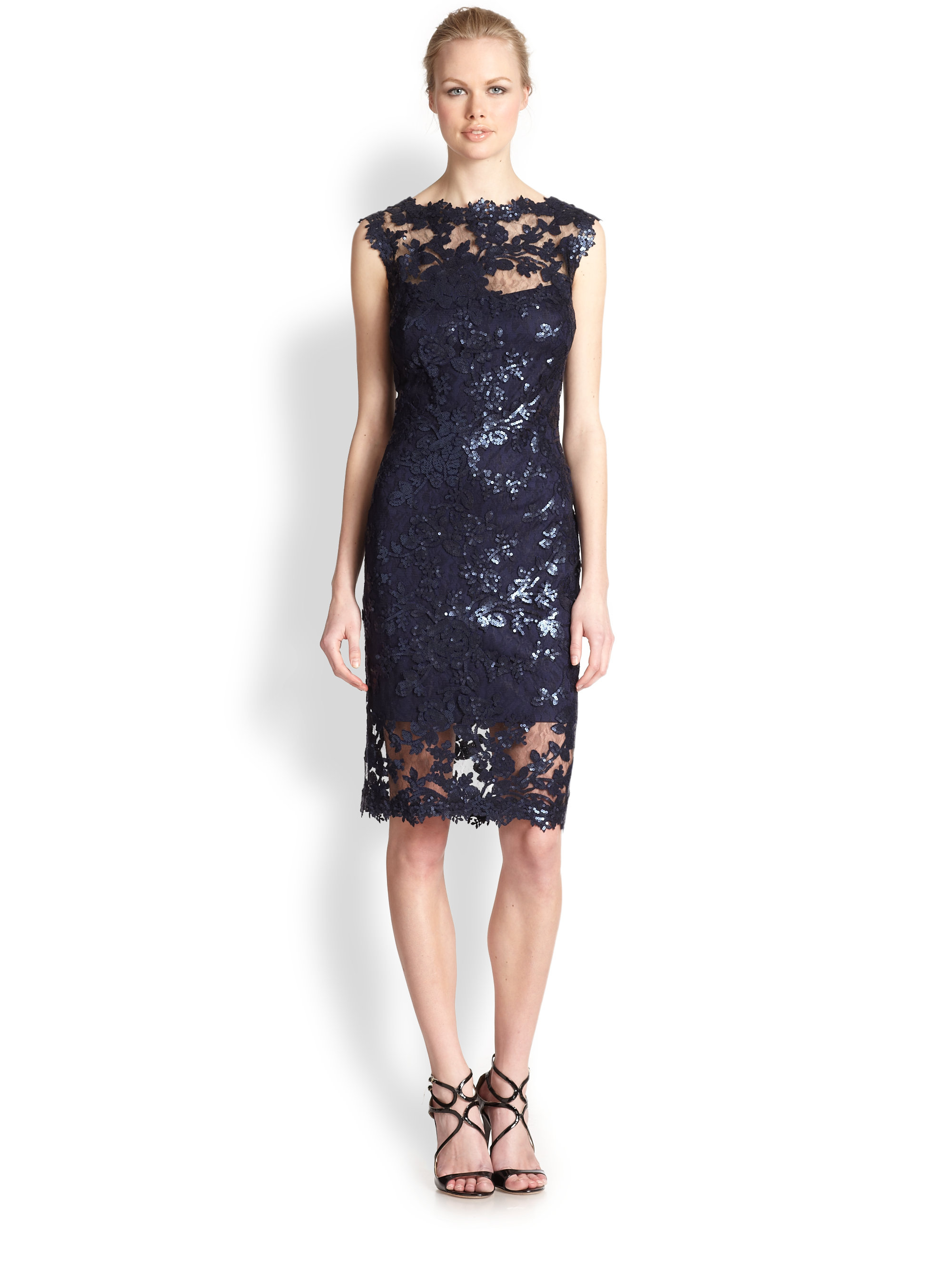 Celebrity Dress Blue Lace Reviews - Online Shopping ...