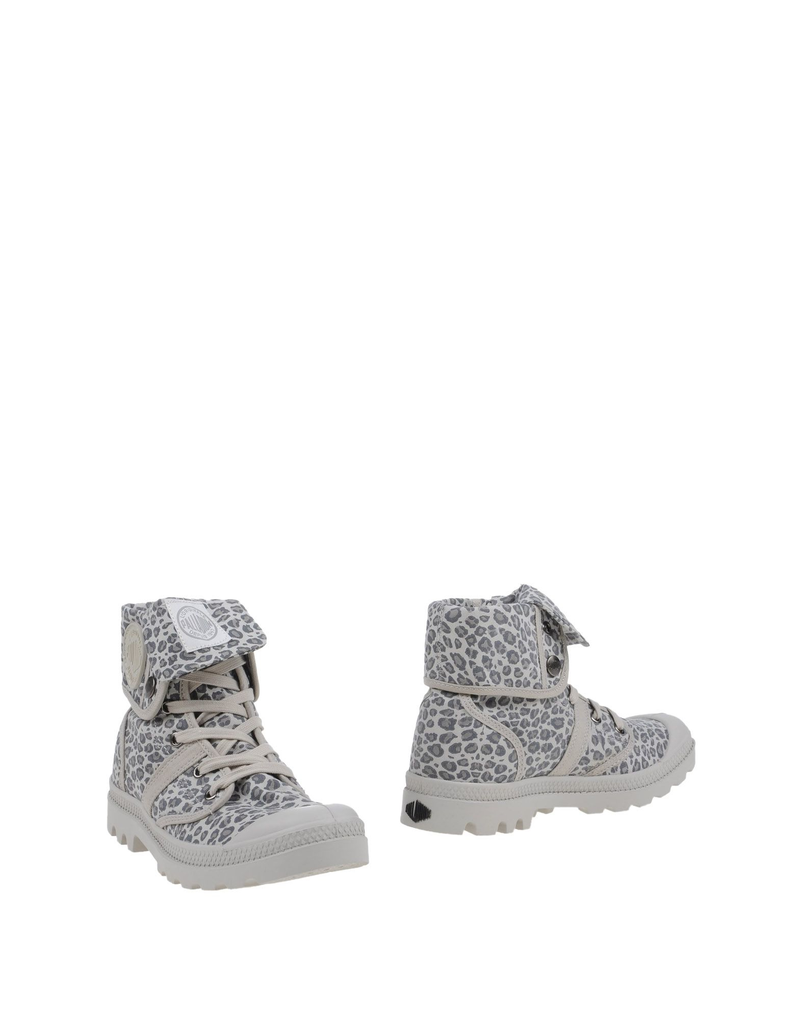 Awesome Grey Palladium Ankle Boots PALLABROUSE D Viewshop_detailaanzicht_2