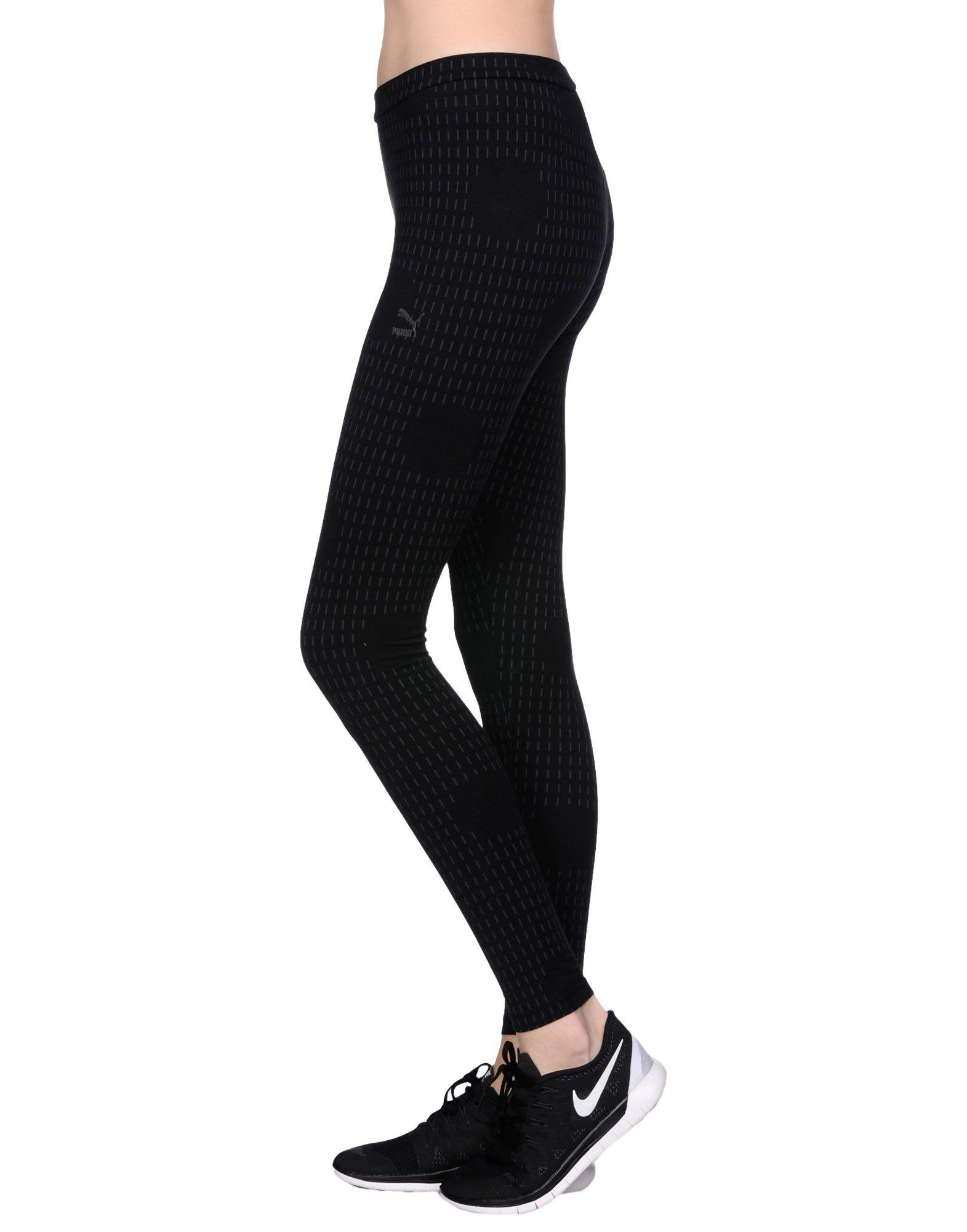 Puma Leggings in Black | Lyst