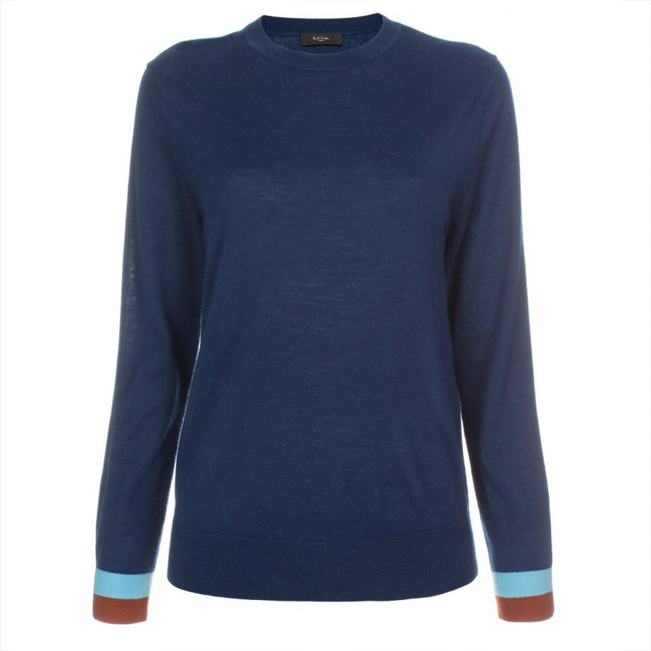 Women'S Navy Blue Sweater 53