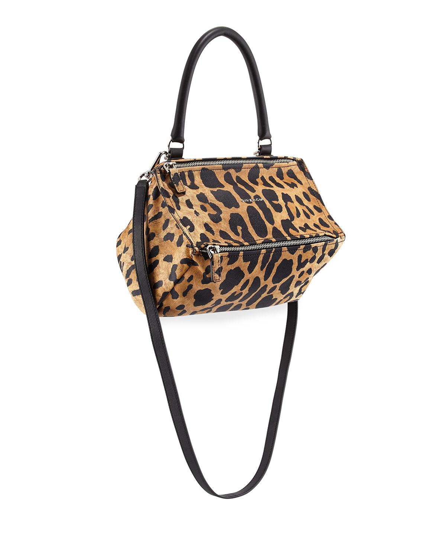 Givenchy Pandora Small Leopard Print
