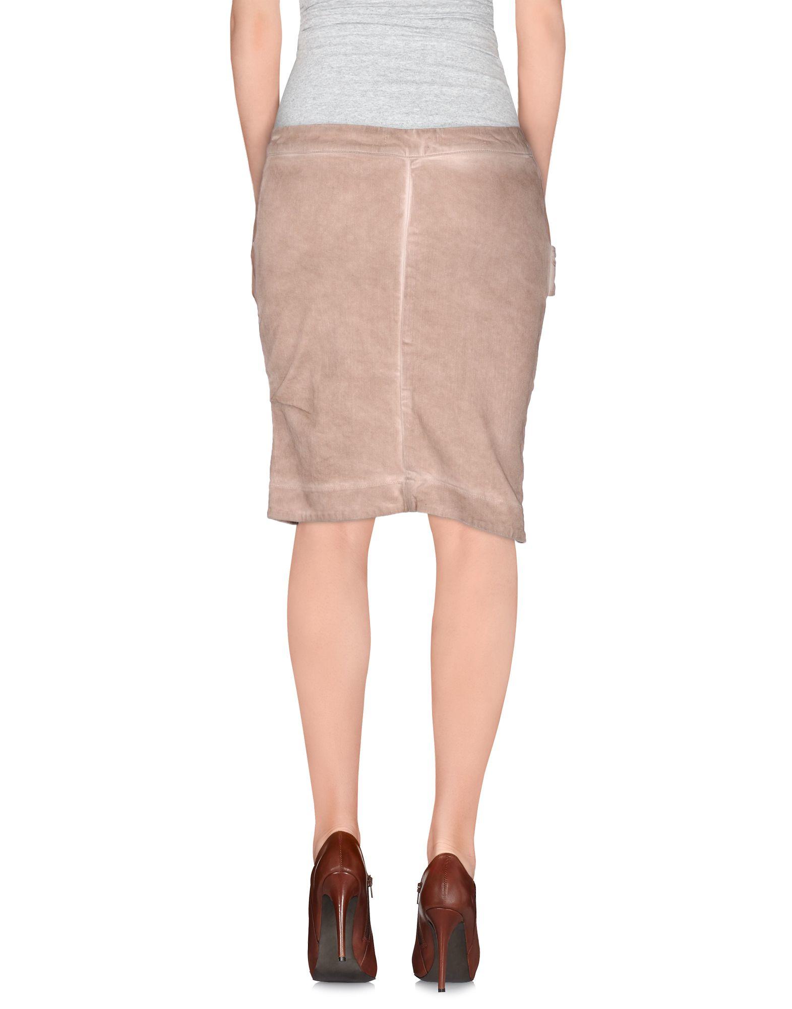 manila grace denim skirt in pink lyst