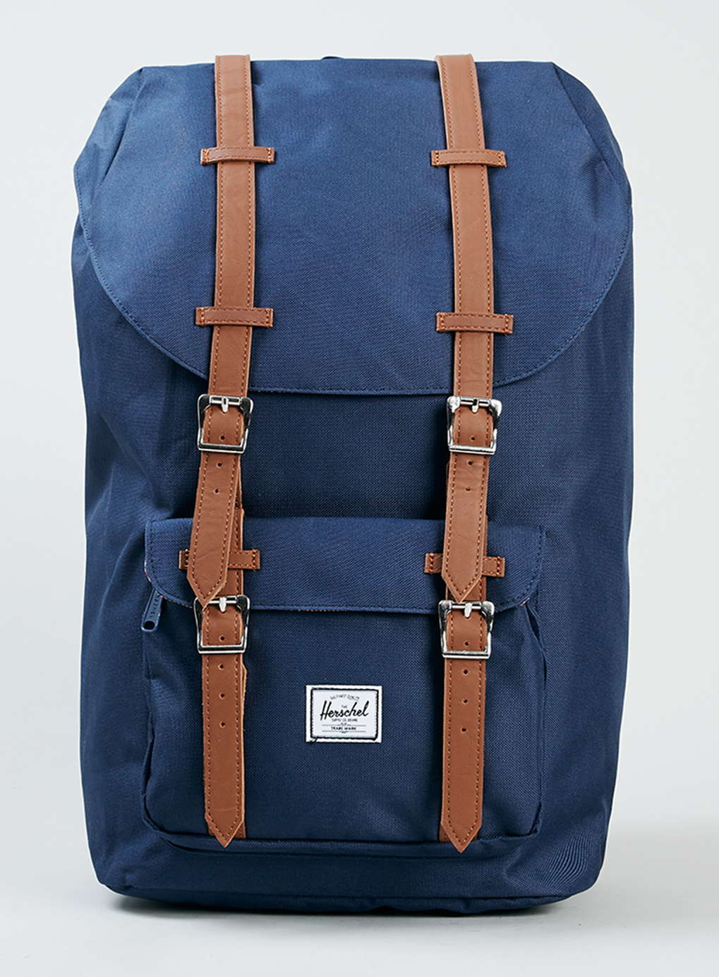 topman herschel navy blue little america backpack in blue. Black Bedroom Furniture Sets. Home Design Ideas