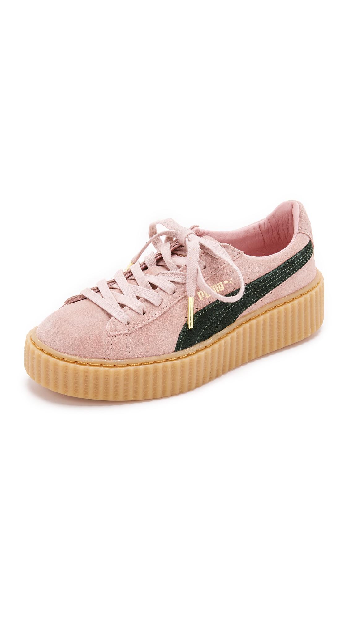 save off 3b076 9a6bb PUMA X Rihanna Creeper Sneakers - Coral Cloud Pink ...