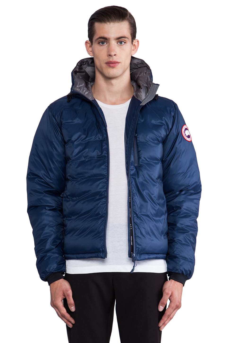Lyst - Canada Goose Lodge Hoody in Blue for Men 5c23f3334