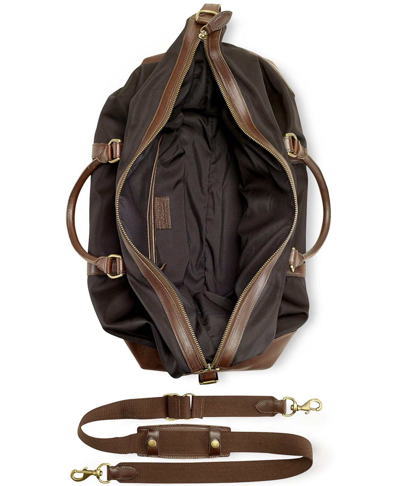 ... spain lyst polo ralph lauren large nylon duffel bag in black for men  7b621 0ae11 1922580b96