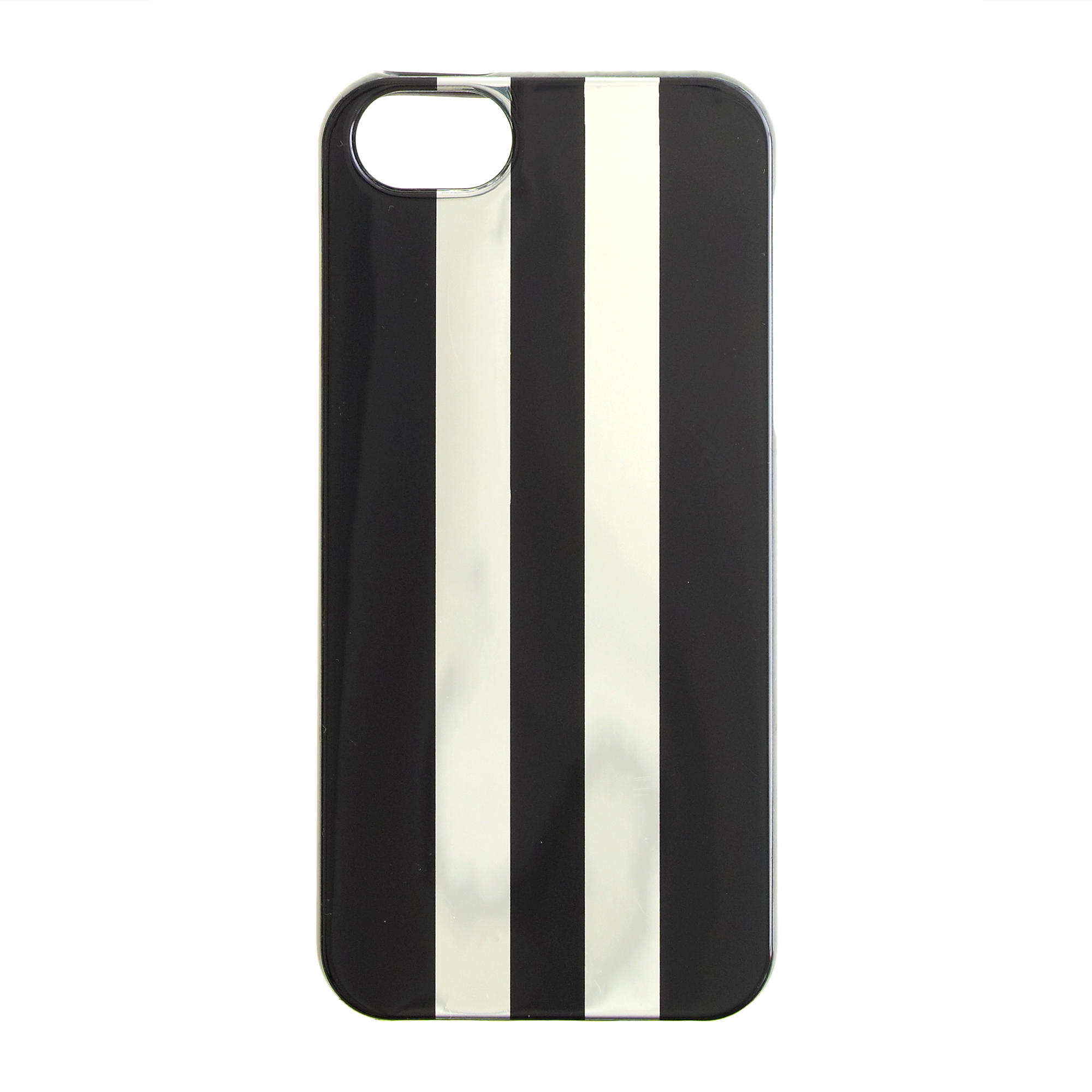 jcrew metallic silver painted stripe rubber case for iphoner 55s silver product 0 normal