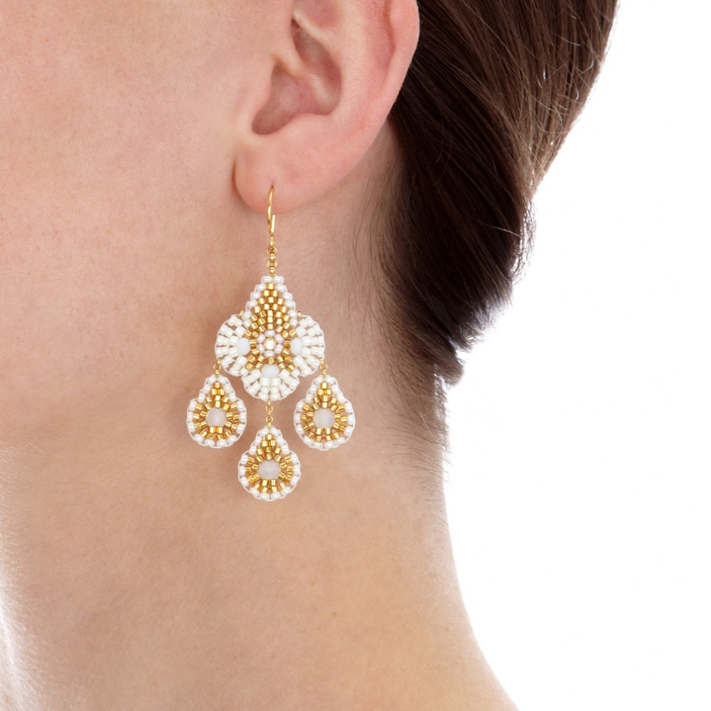 how to make miguel ases earrings