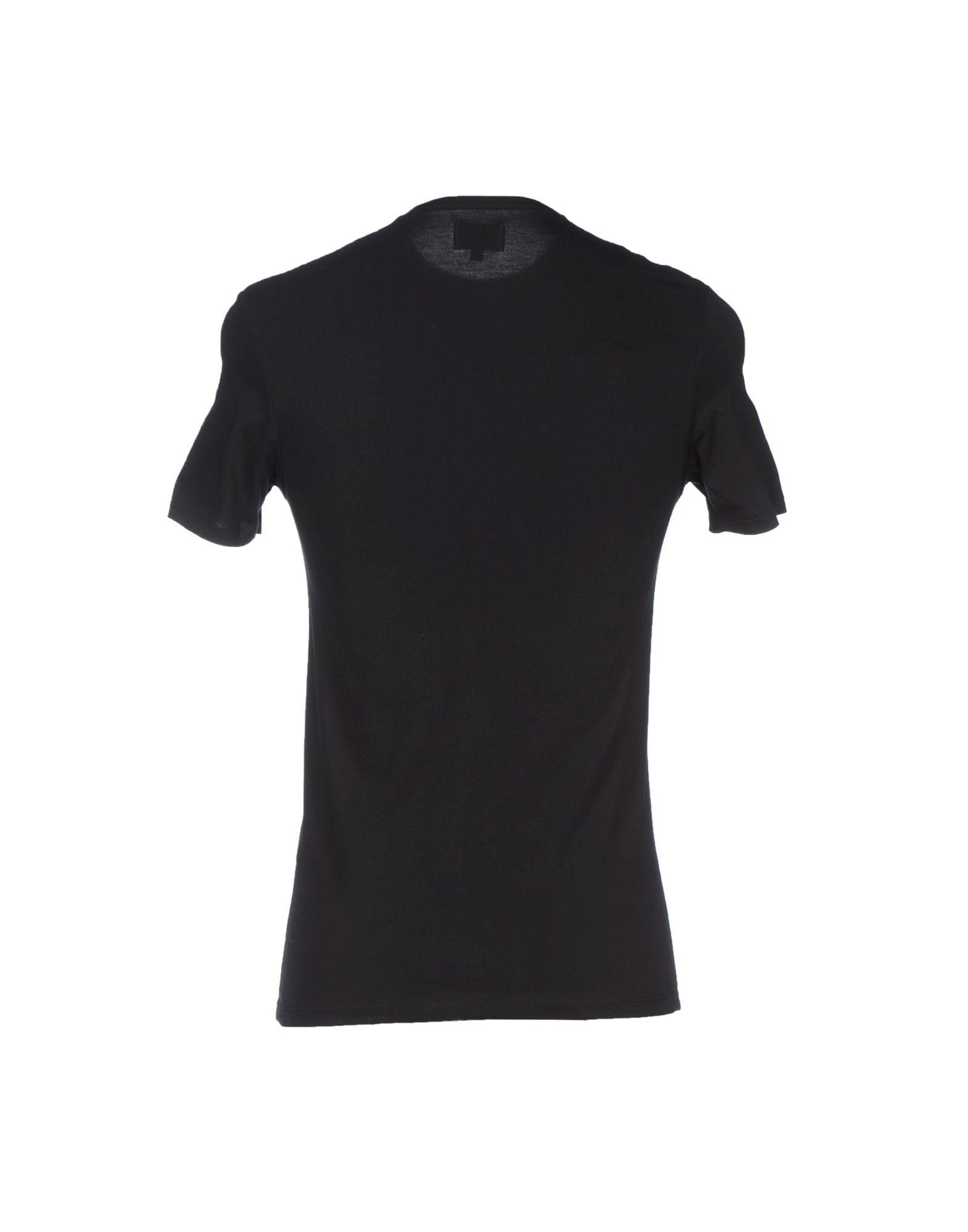 Levi 39 s t shirt in black for men lyst for Mens black levi shirt