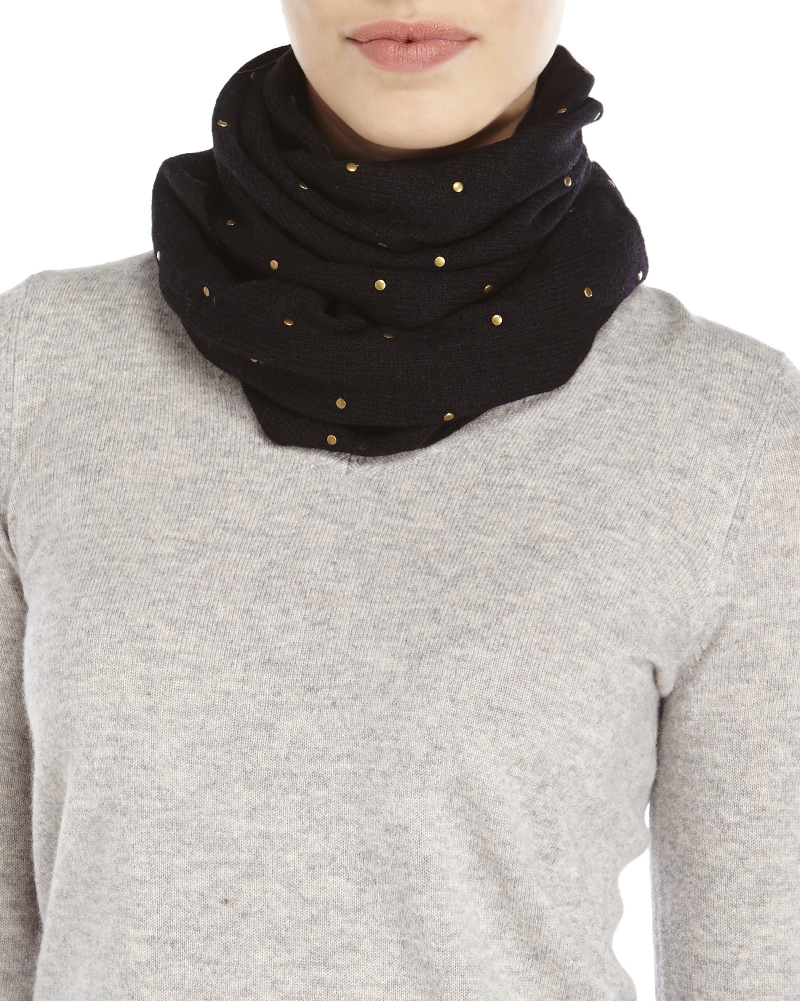 at rrp women navy love amazon by scotland blue clothing dp s in snood womens cashmere made scarf infinity store