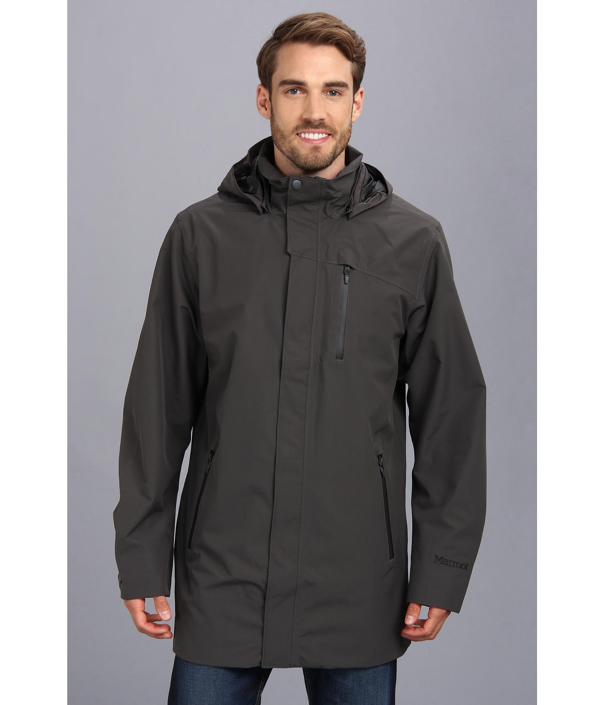 Marmot Traveler Jacket In Gray For Men Lyst
