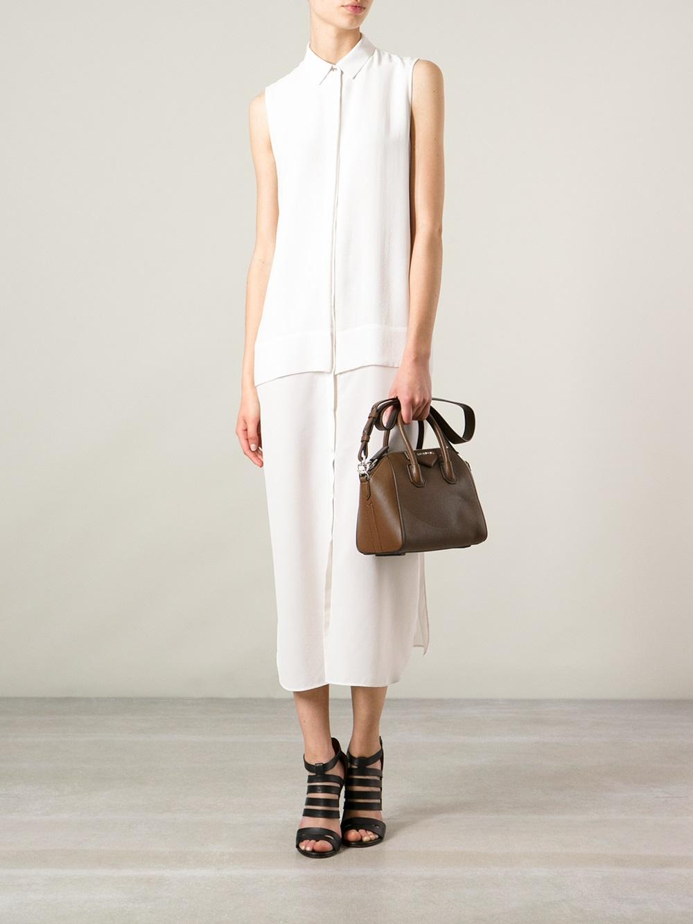 mini Antigona bag - Brown Givenchy twdGaOlY