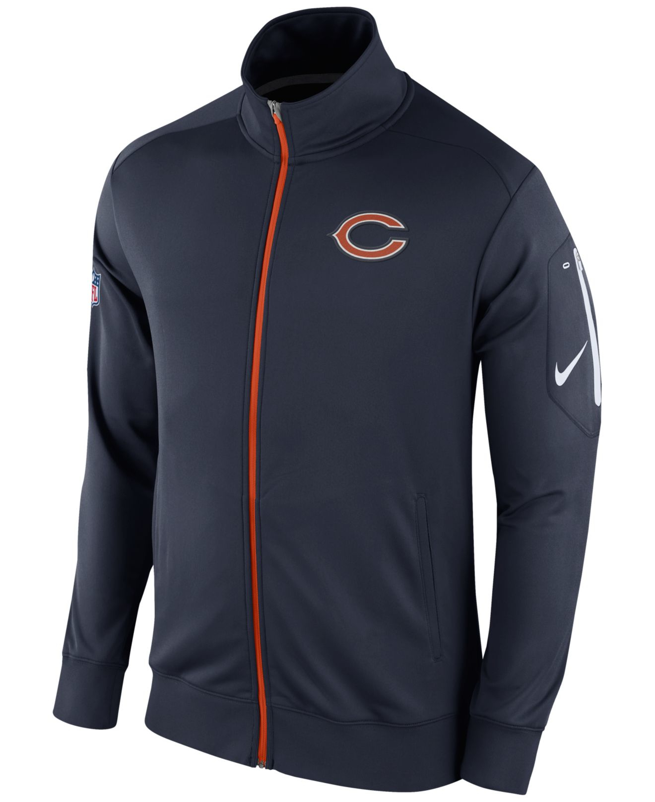 Lyst  Nike Chicago Bears Nfl Mens Empower Jacket in Blue for Men