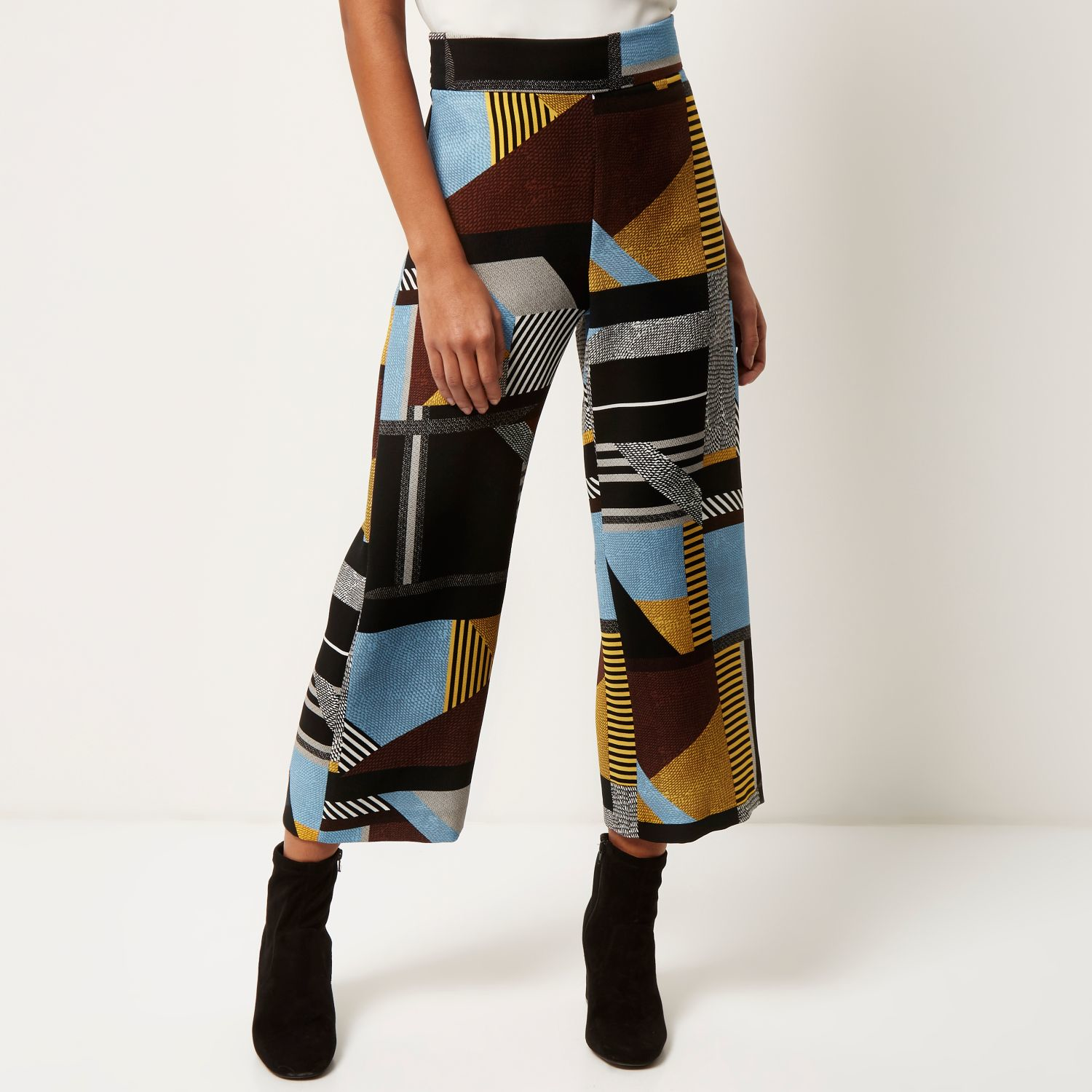 River Island Patterned Trousers