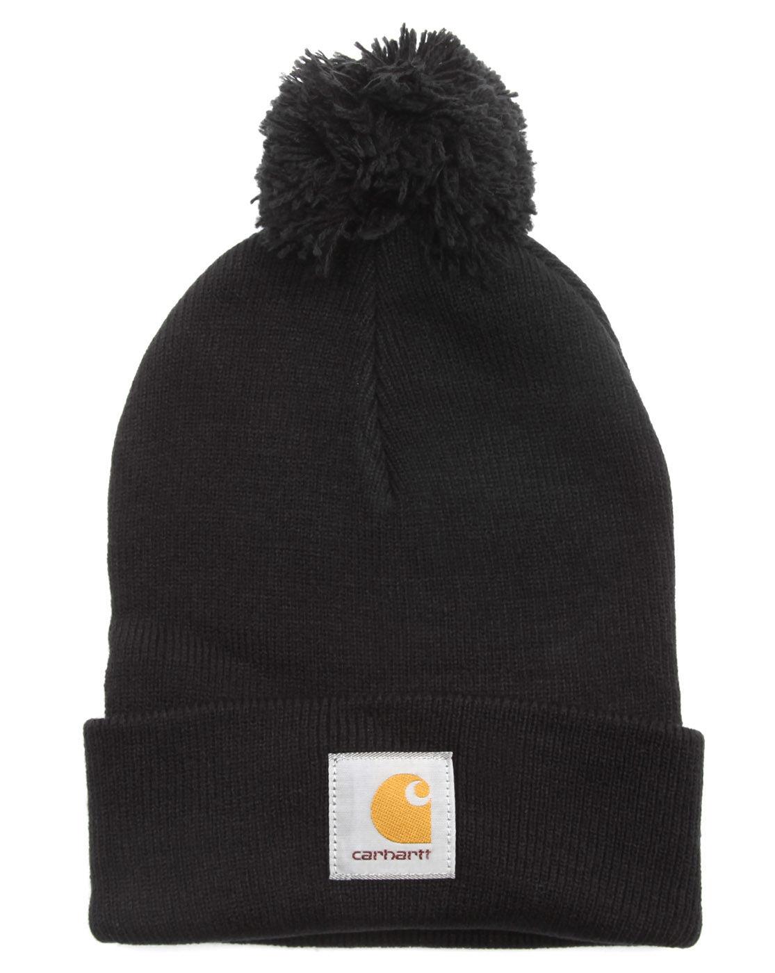 carhartt black watch hat in black for men noir lyst. Black Bedroom Furniture Sets. Home Design Ideas