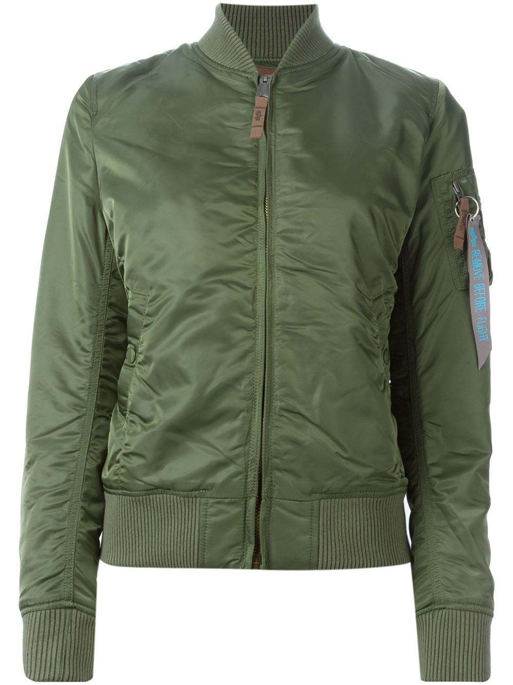 alpha industries classic bomber jacket in green lyst. Black Bedroom Furniture Sets. Home Design Ideas