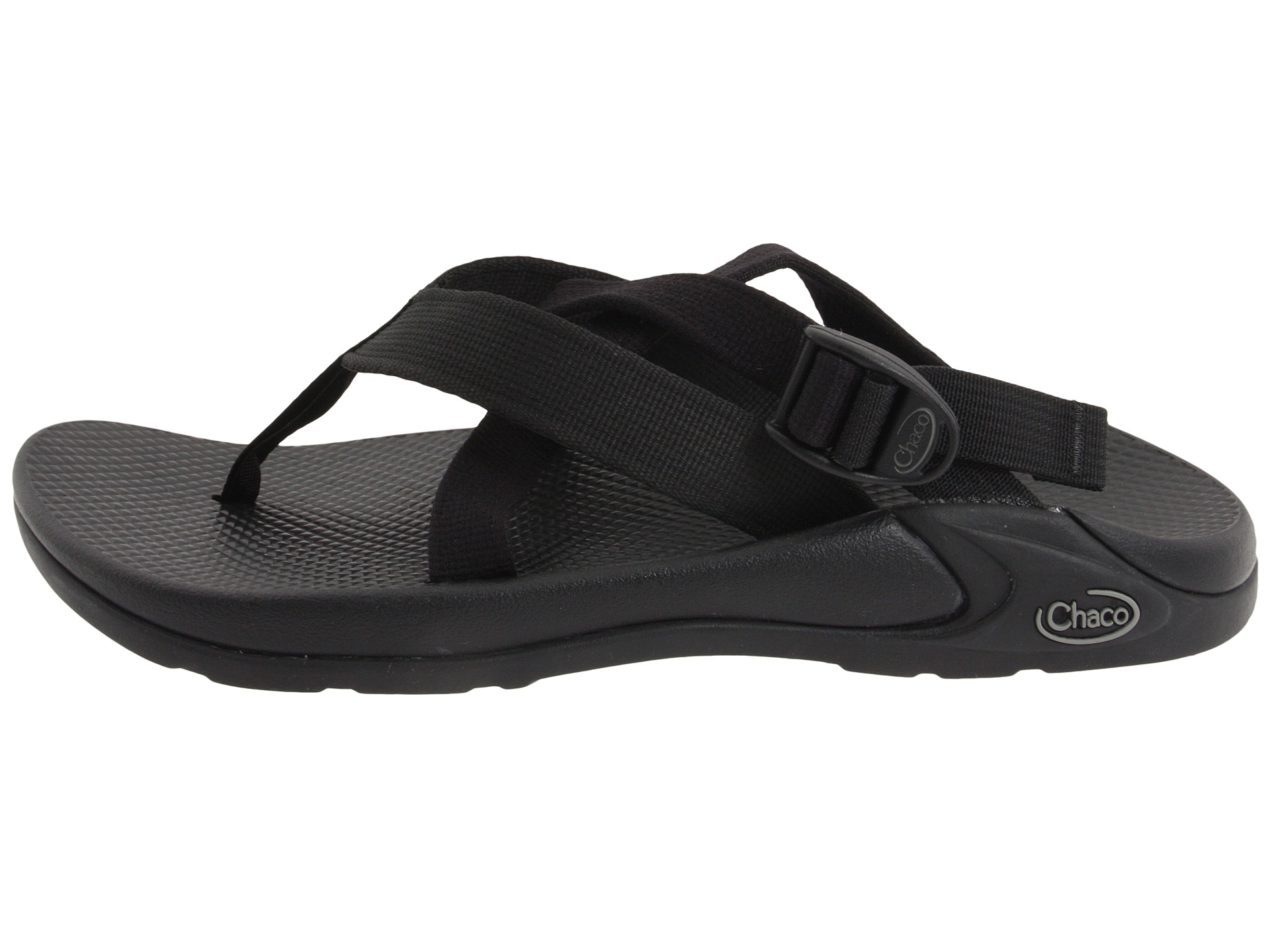 9b81bf51c95e Lyst - Chaco Hipthong Two Ecotread in Black for Men