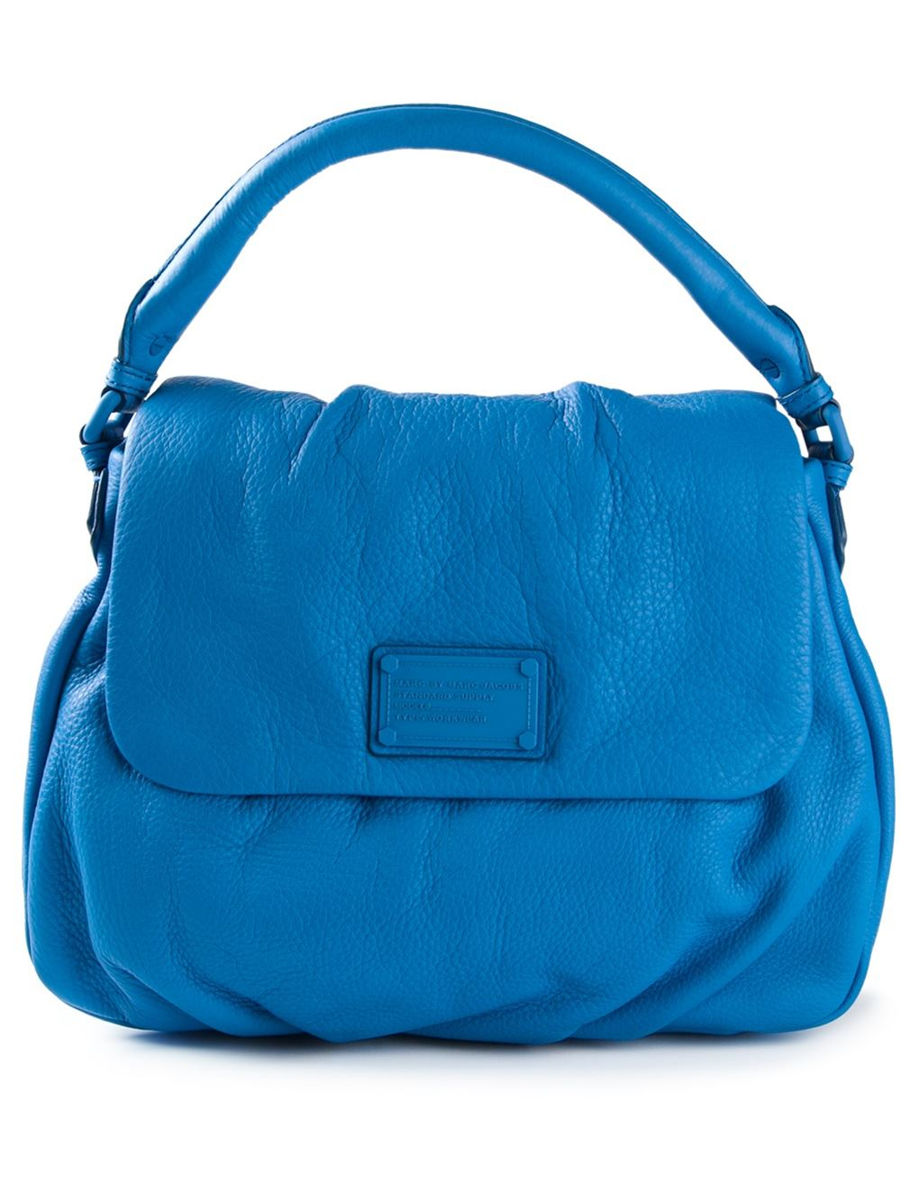 marc by marc electro q lil ukita tote bag in blue