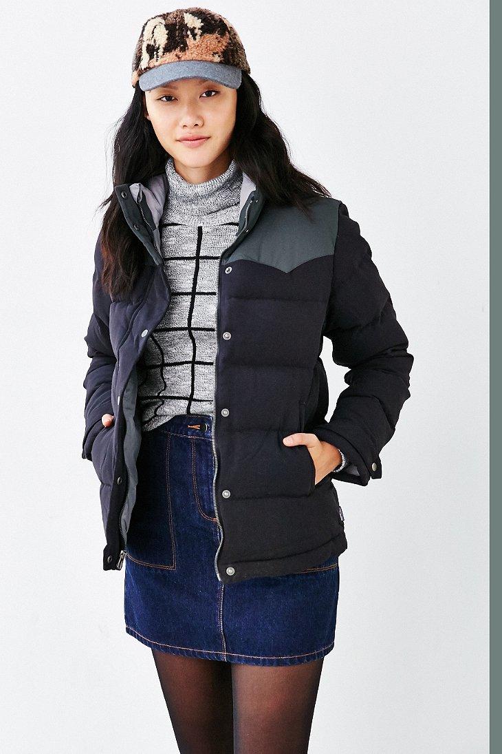 Lyst Patagonia Bivy Puffer Jacket In Black