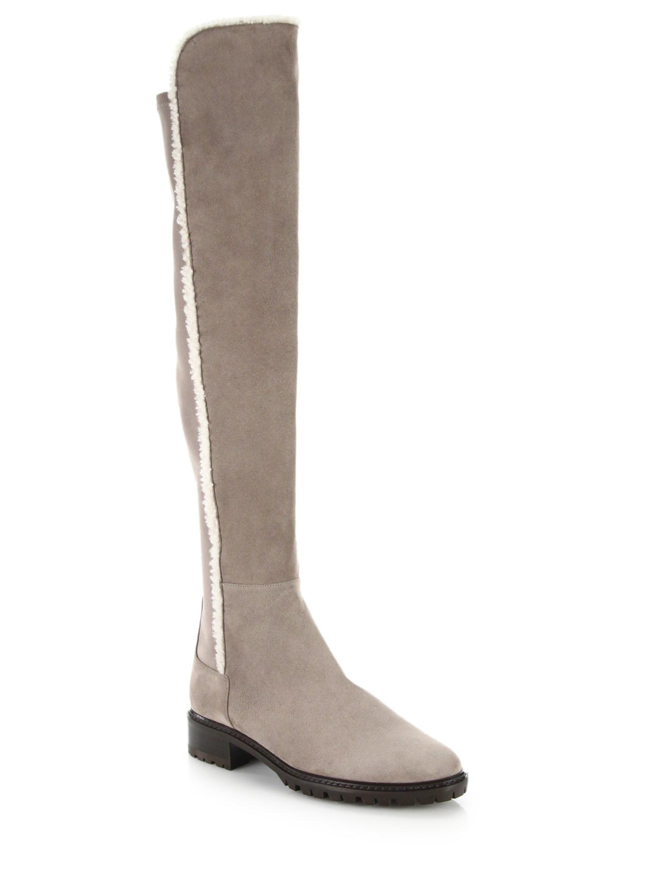 Stuart Weitzman Parka Over-The-Knee Boots cheap sale cost outlet best prices cheap sale footlocker pictures cheap sale discount F5MqBuL