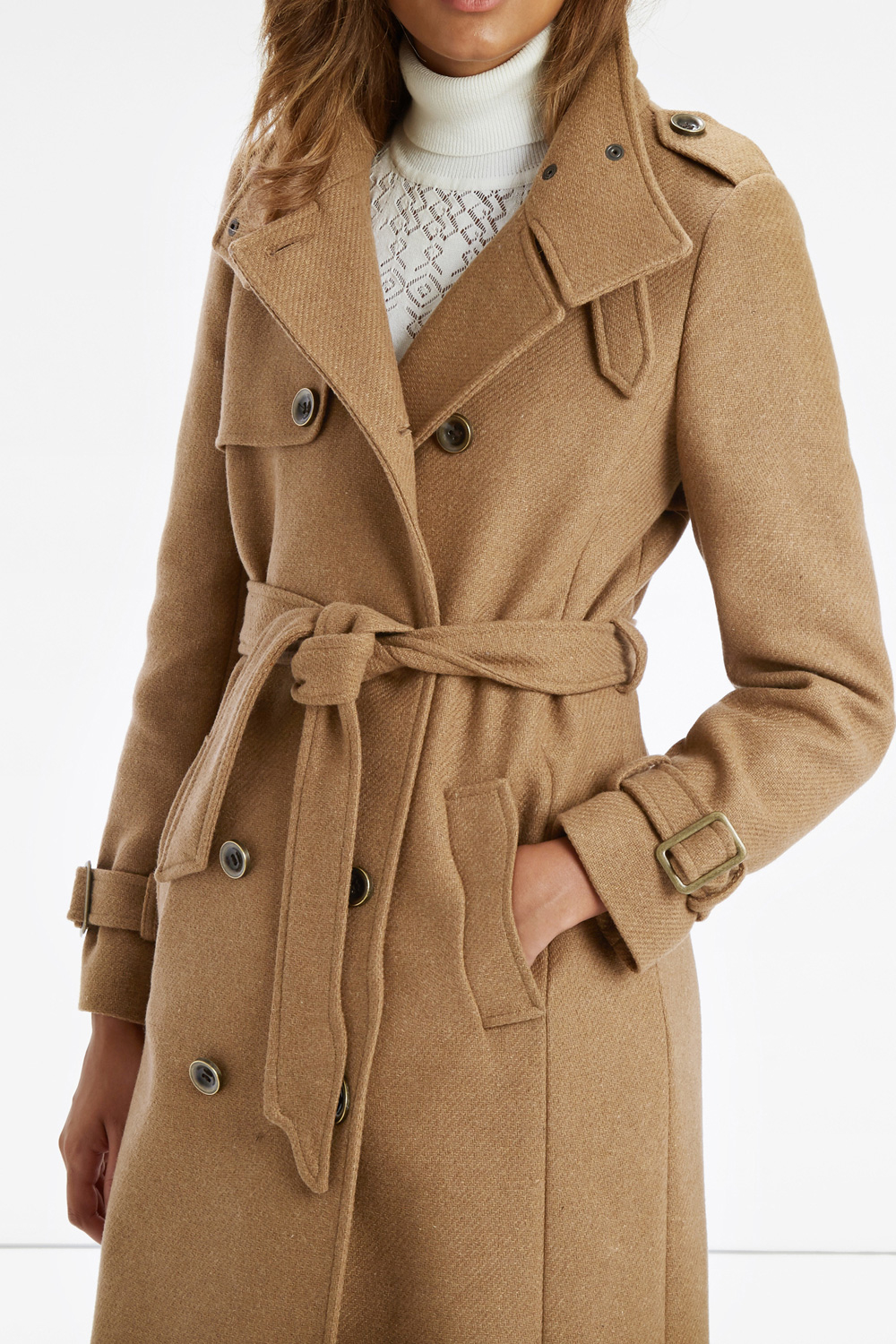 competitive price on feet at rational construction Oasis The Military Coat in Camel (Natural) - Lyst
