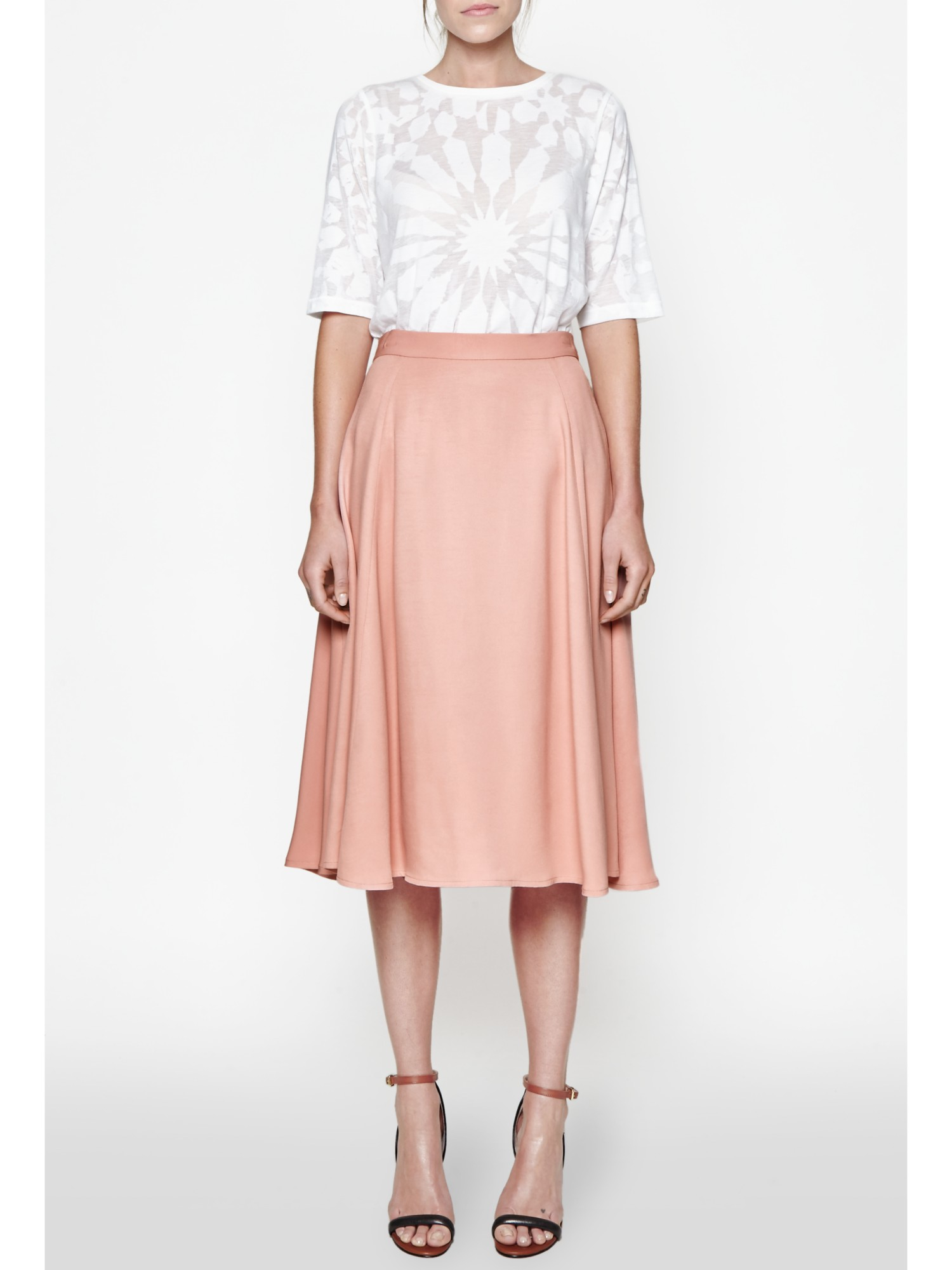 Shop silk crepe skirt at Neiman Marcus, where you will find free shipping on the latest in fashion from top designers.