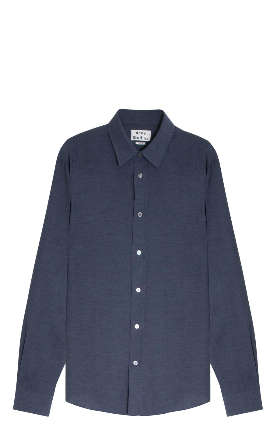 Lyst Acne Studios Jeffery Shirt In Blue For Men