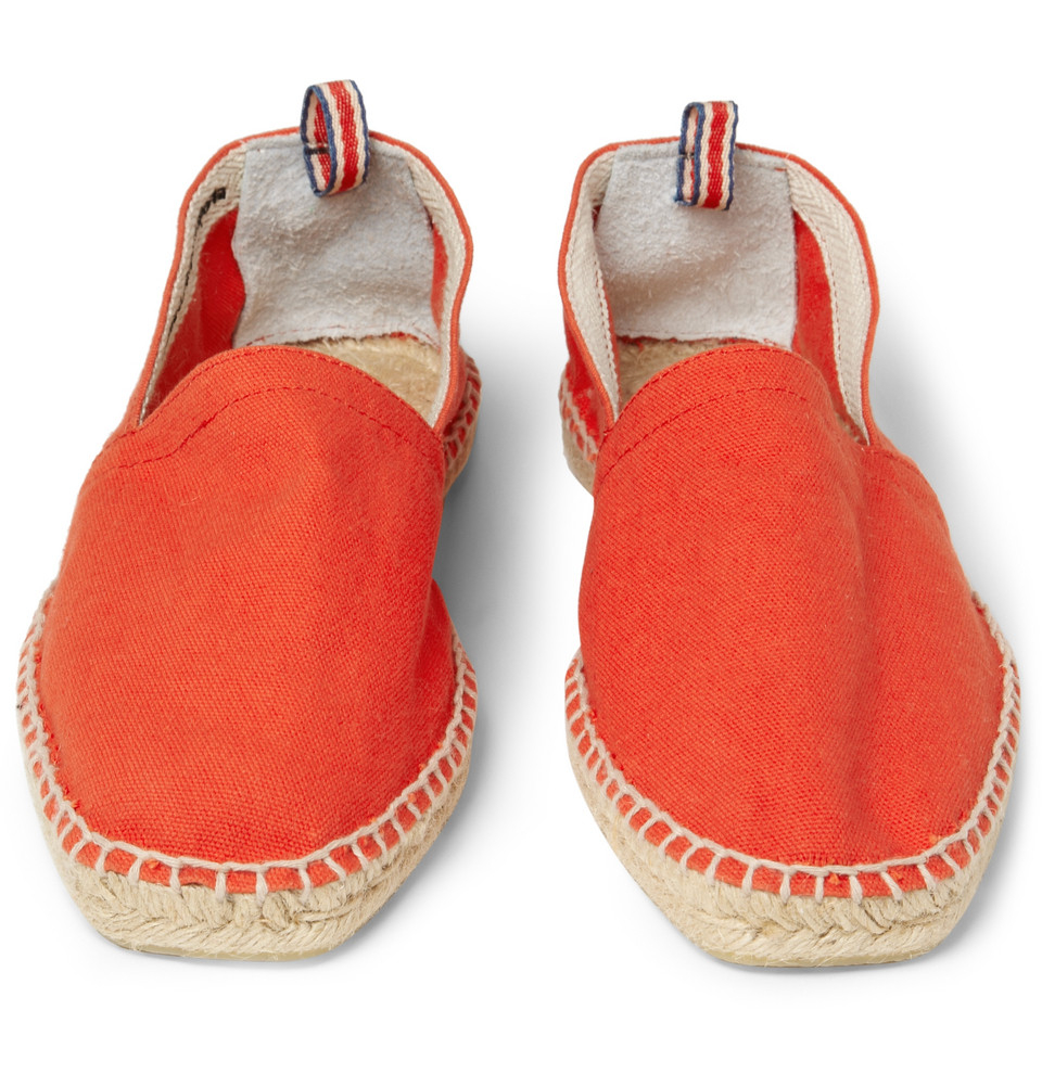 Castaner Espadrilles in Red (Orange) for Men