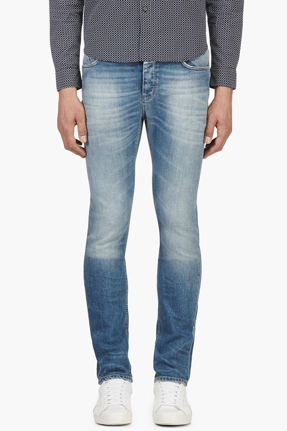 closed blue faded cooper jeans in blue for men lyst. Black Bedroom Furniture Sets. Home Design Ideas