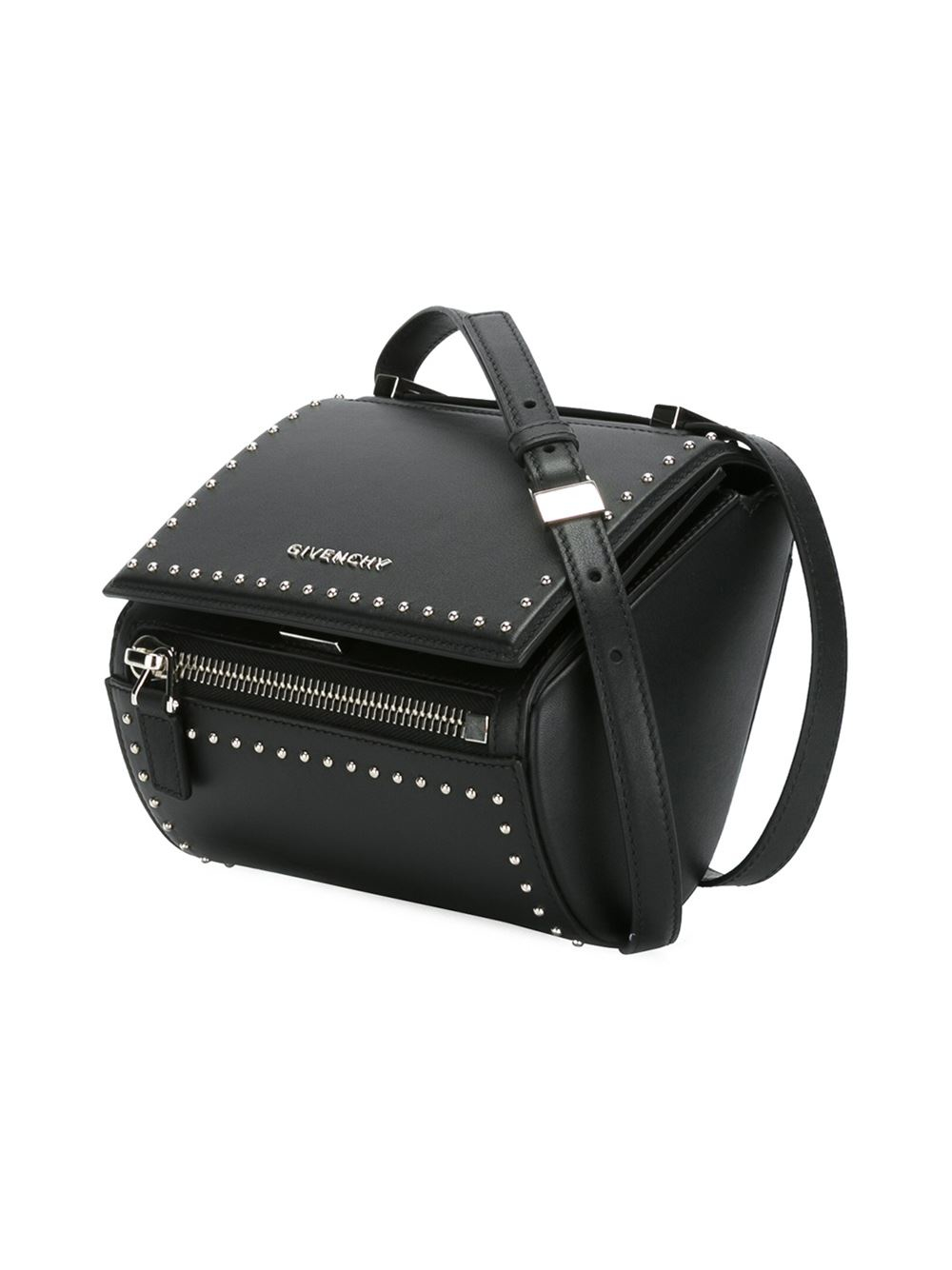 Givenchy Small Pandora Box Shoulder Bag in Black  ceee3fc457fa9