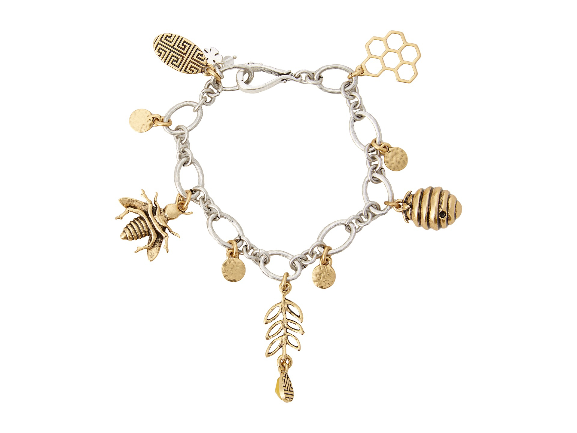 Lyst Lucky Brand Bee Charm Bracelet In Metallic Jewelry