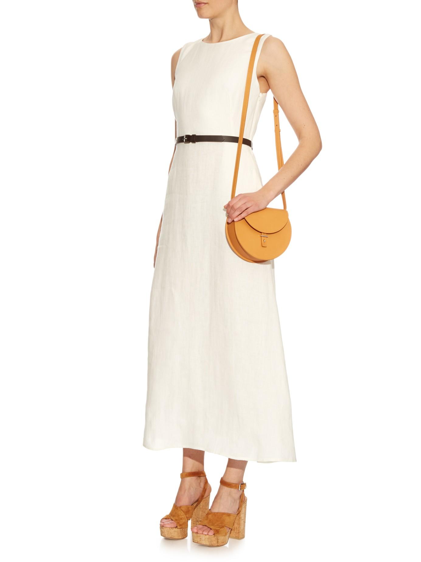 7aadf0dbbc4d Weekend by Maxmara Amico Dress in White - Lyst