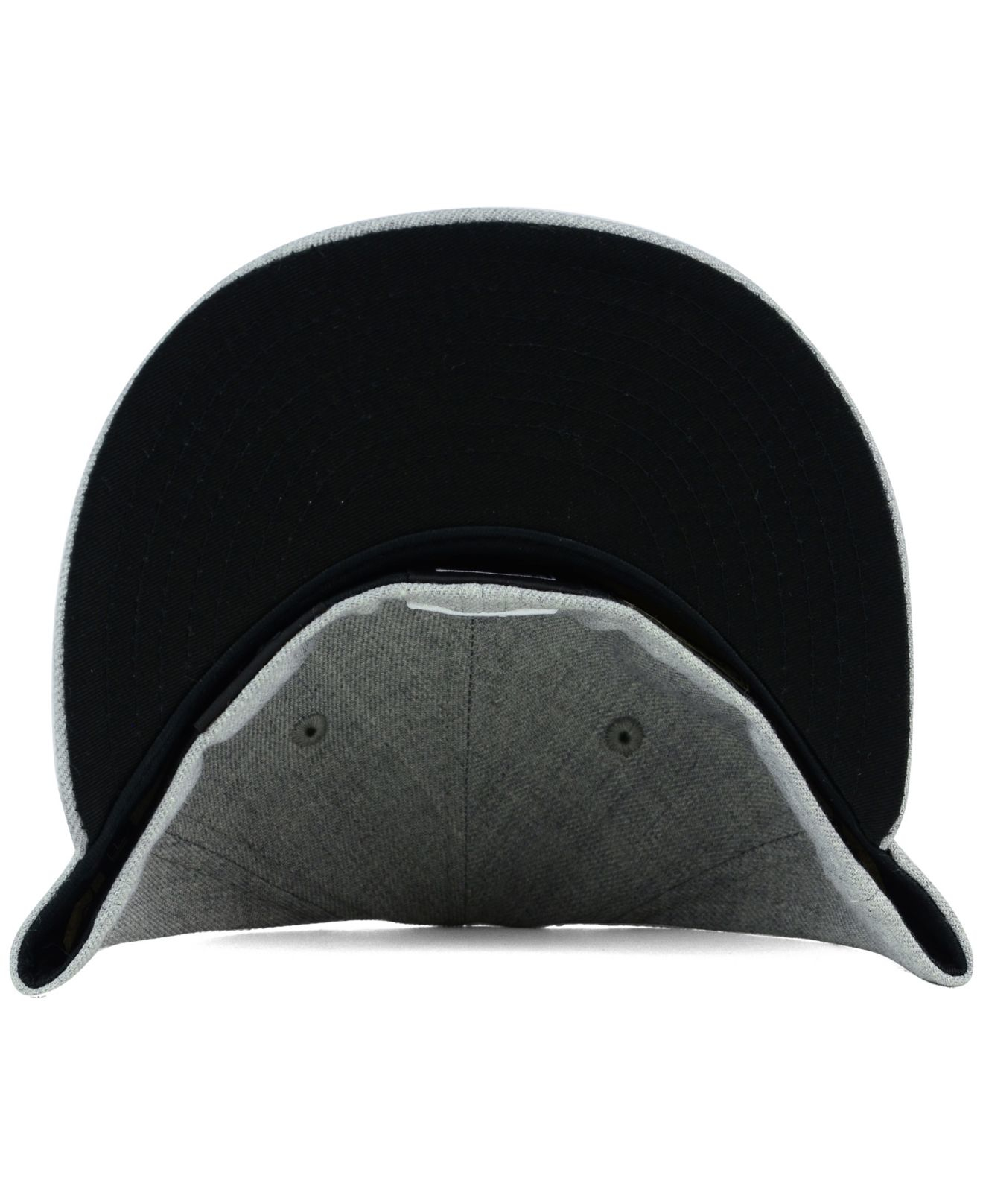 finest selection e5e27 fc36f Lyst - Ktz Atlanta Hawks Heather Black White 59fifty Cap in Gray for Men
