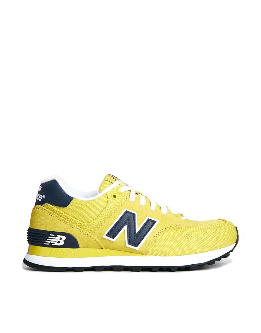 New Balance Yellow Running Shoes