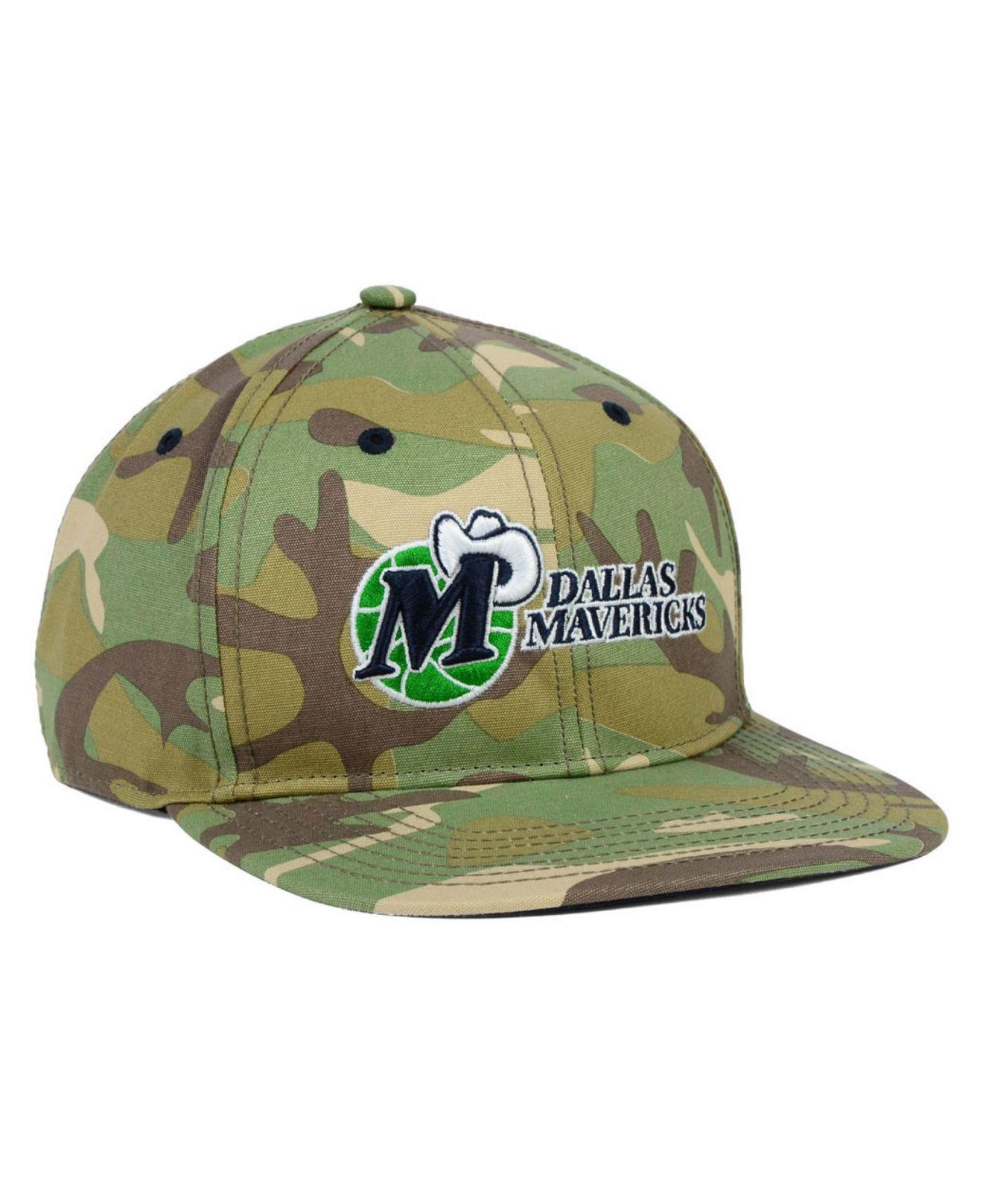 buy popular 9a1cf 31a31 47 Brand Dallas Mavericks Nba Hwc Woodrow Snapback Cap in Green for ...