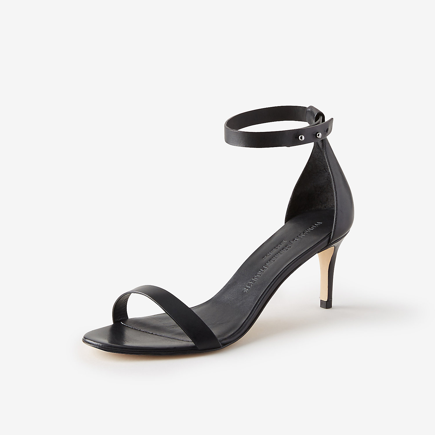 Black Sandals For Women Low Heel With Unique Image – playzoa.com