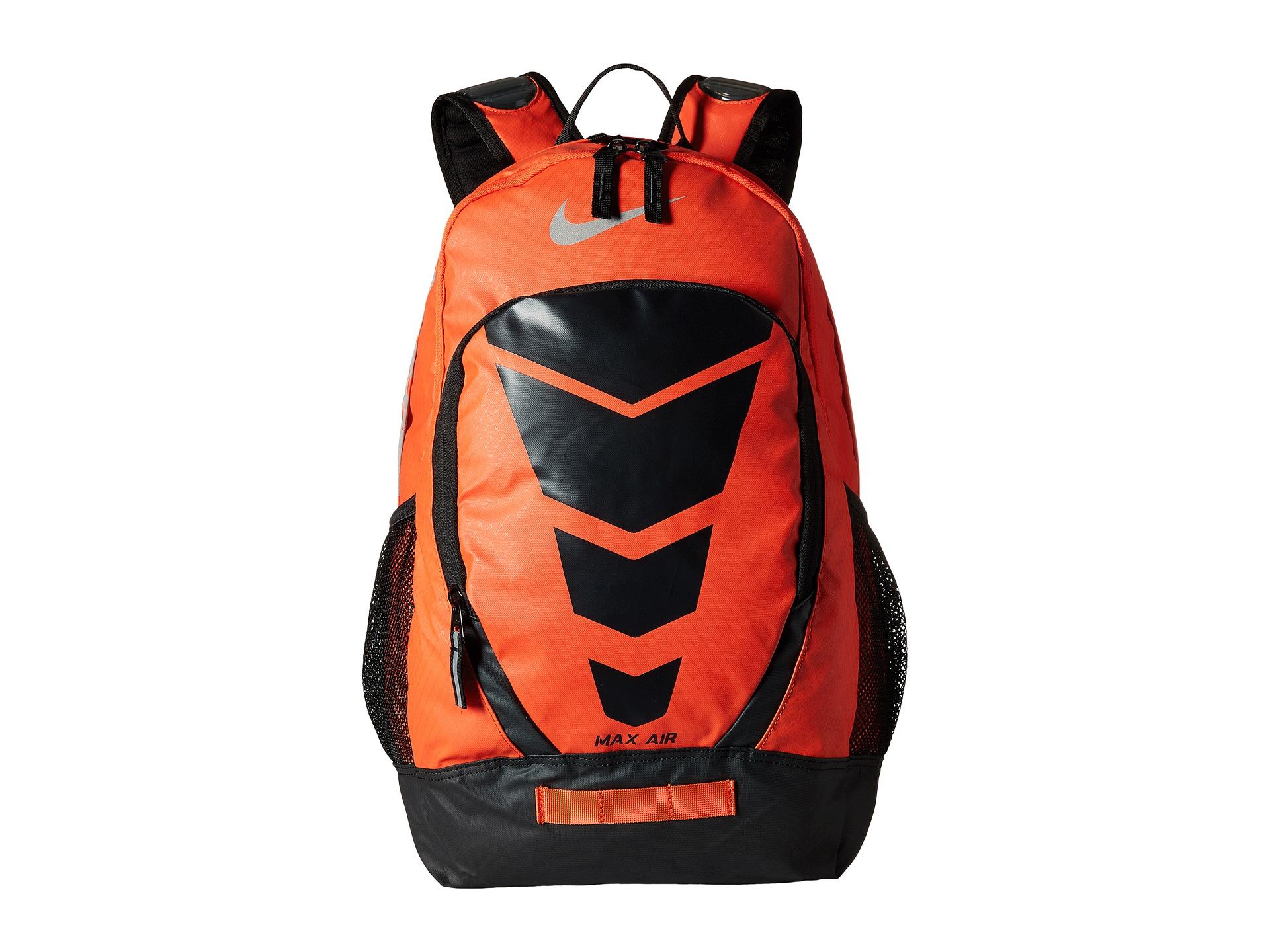 lyst nike max air vapor backpack large in orange