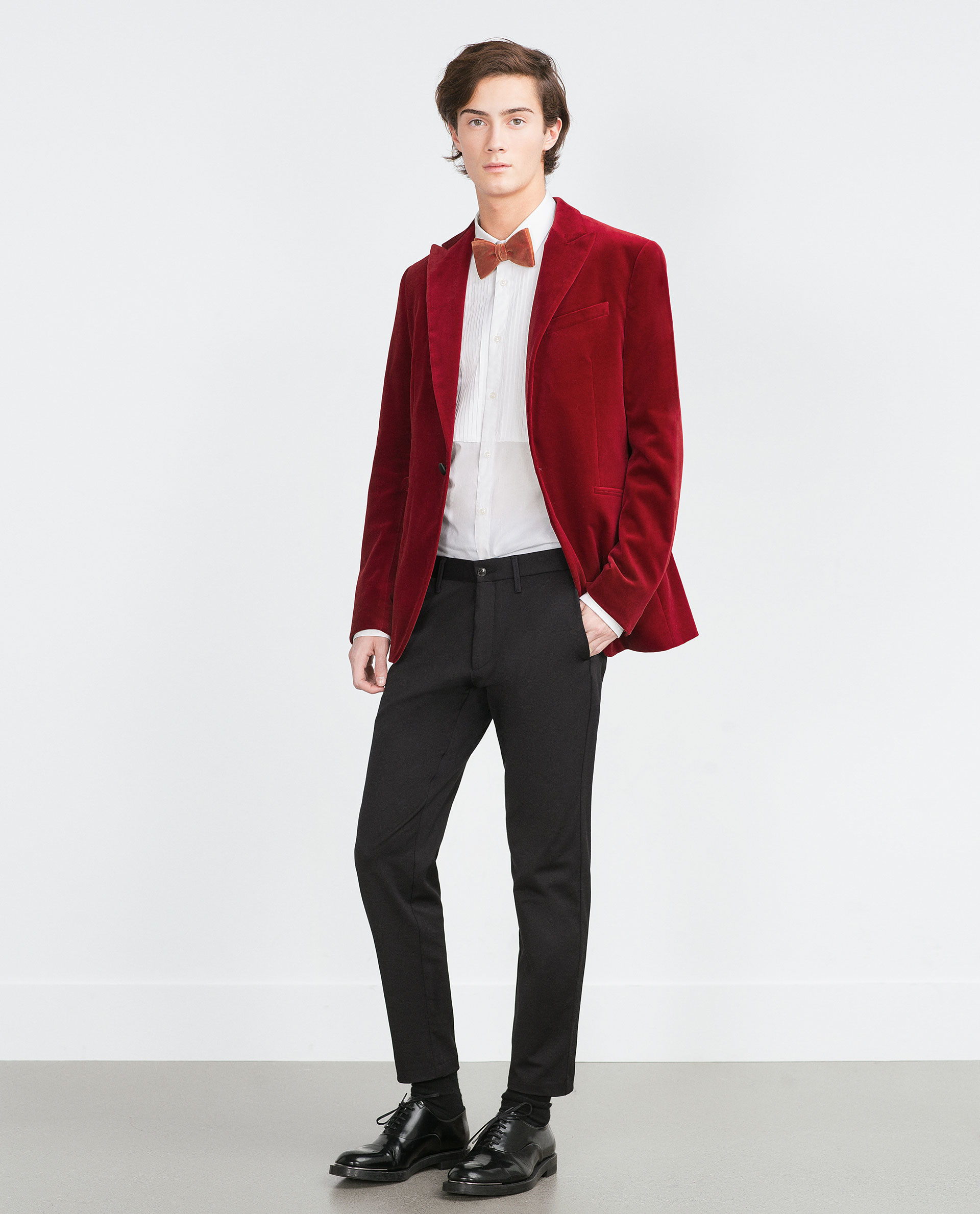 Red Velvet Blazer Mens Photo Album - Reikian