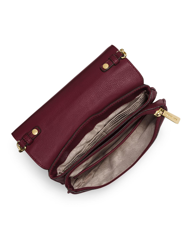 0ce9b704d5f9 MICHAEL Michael Kors Fulton Cross-Body Bag in Purple - Lyst