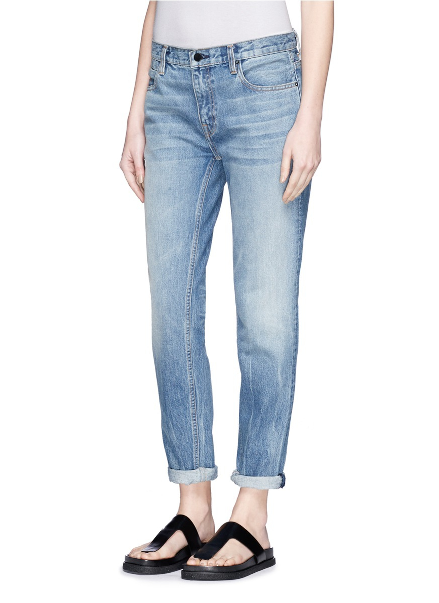 Alexander Wang Denim 'wang 002' Relaxed Jeans in Blue