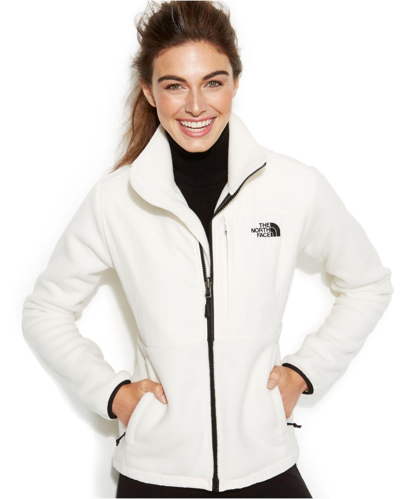 eb8087b67 The North Face White Denali Fleece Jacket