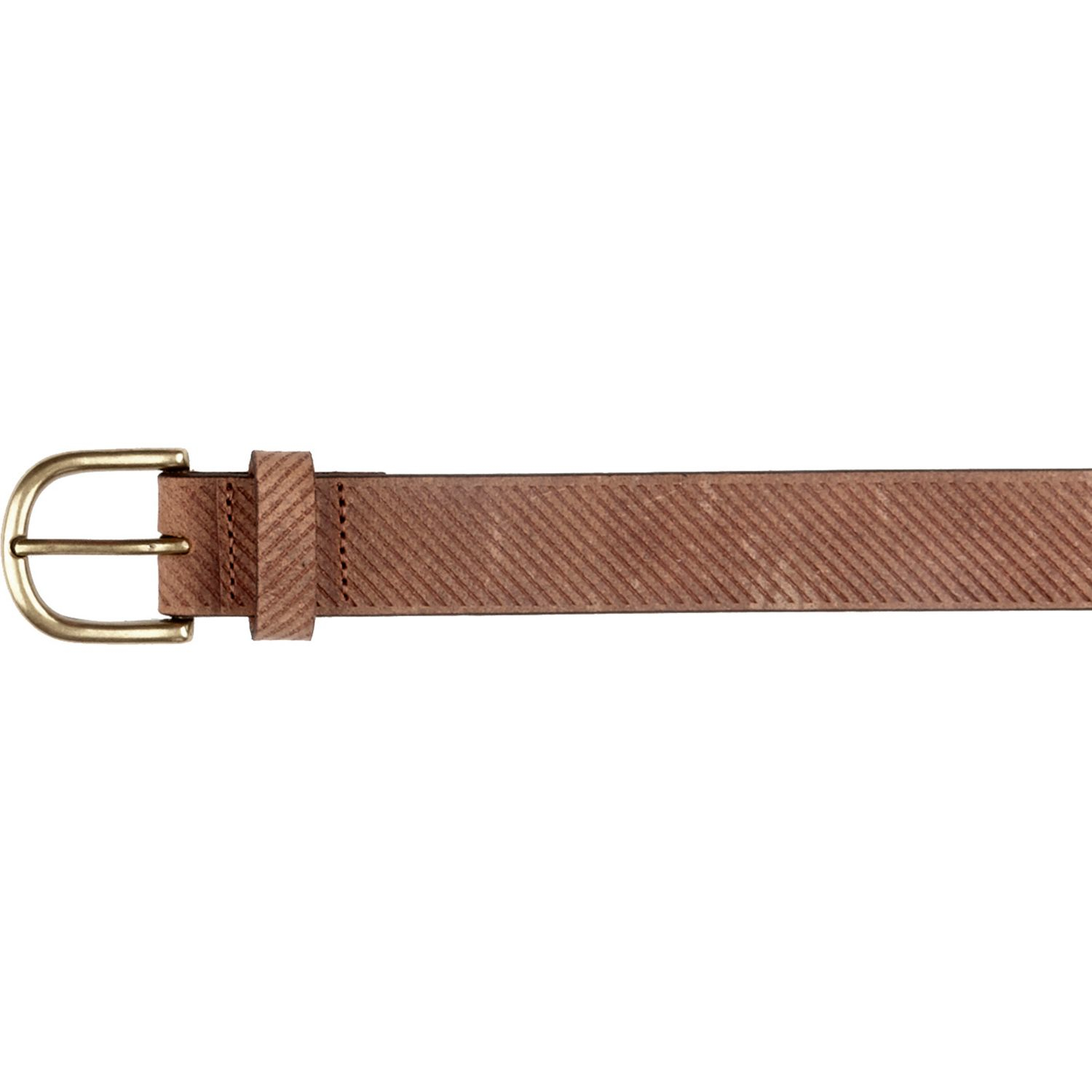river island light brown textured belt in brown for lyst